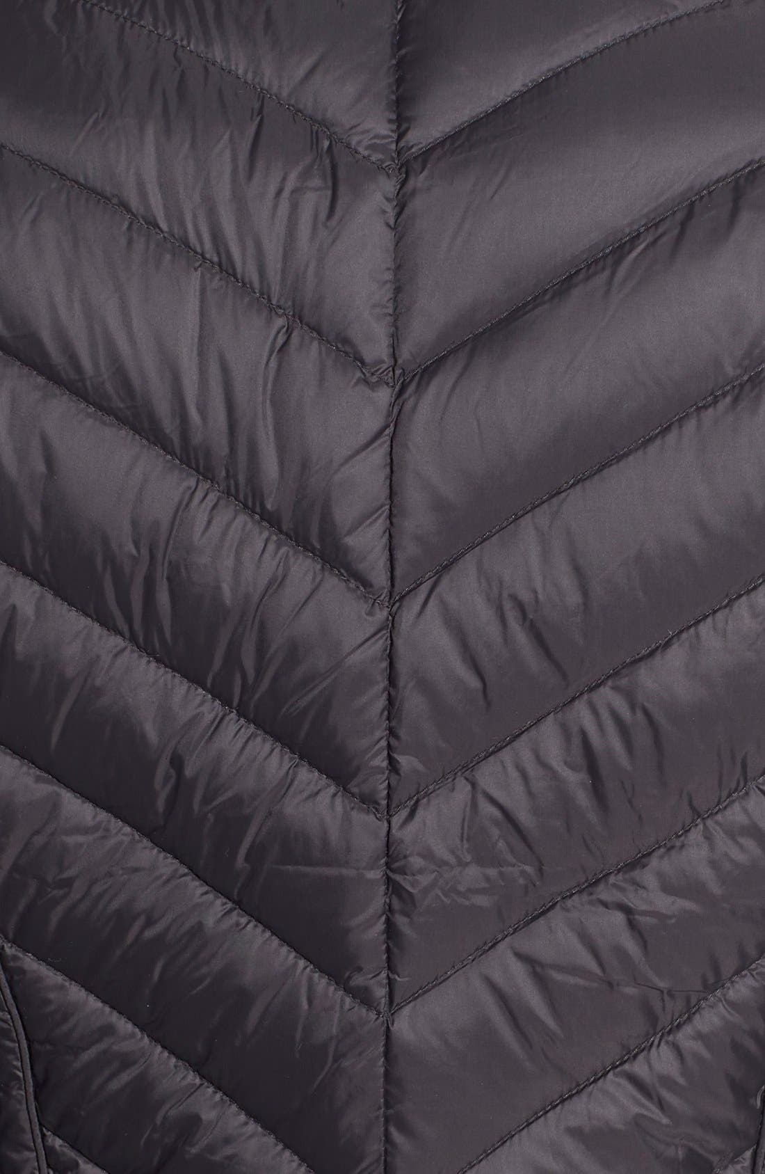 Packable Down Jacket,                             Alternate thumbnail 5, color,                             001