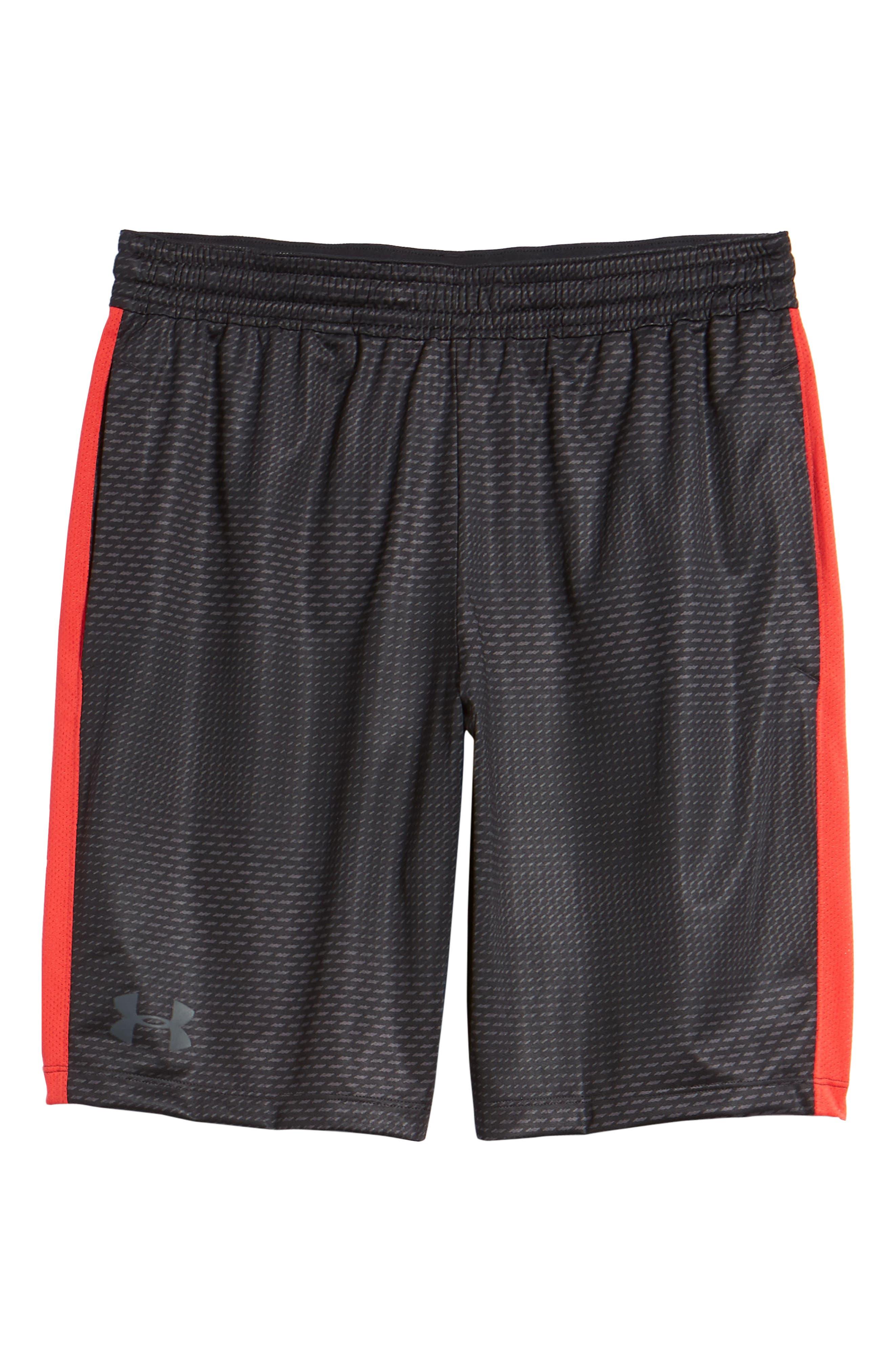 UNDER ARMOUR,                             Raid 2.0 Classic Fit Shorts,                             Alternate thumbnail 6, color,                             001