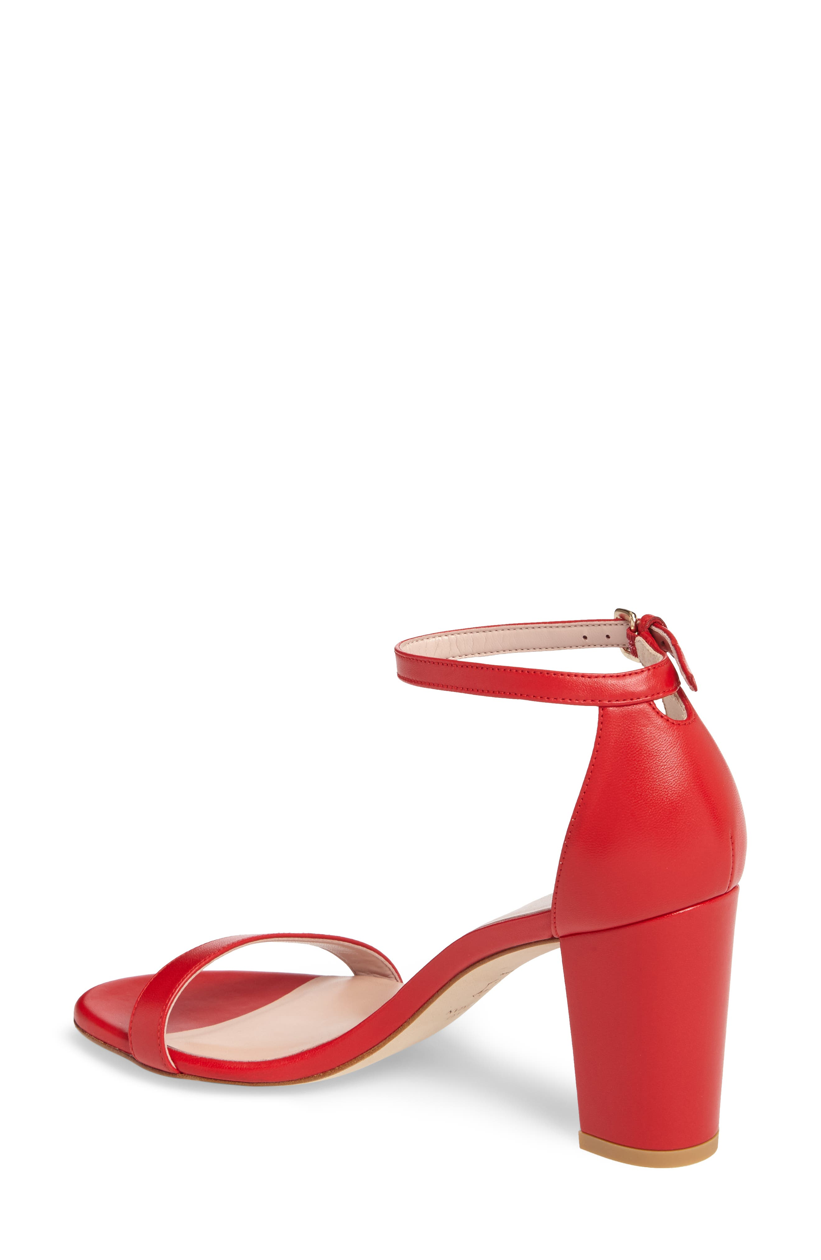 NearlyNude Ankle Strap Sandal,                             Alternate thumbnail 34, color,