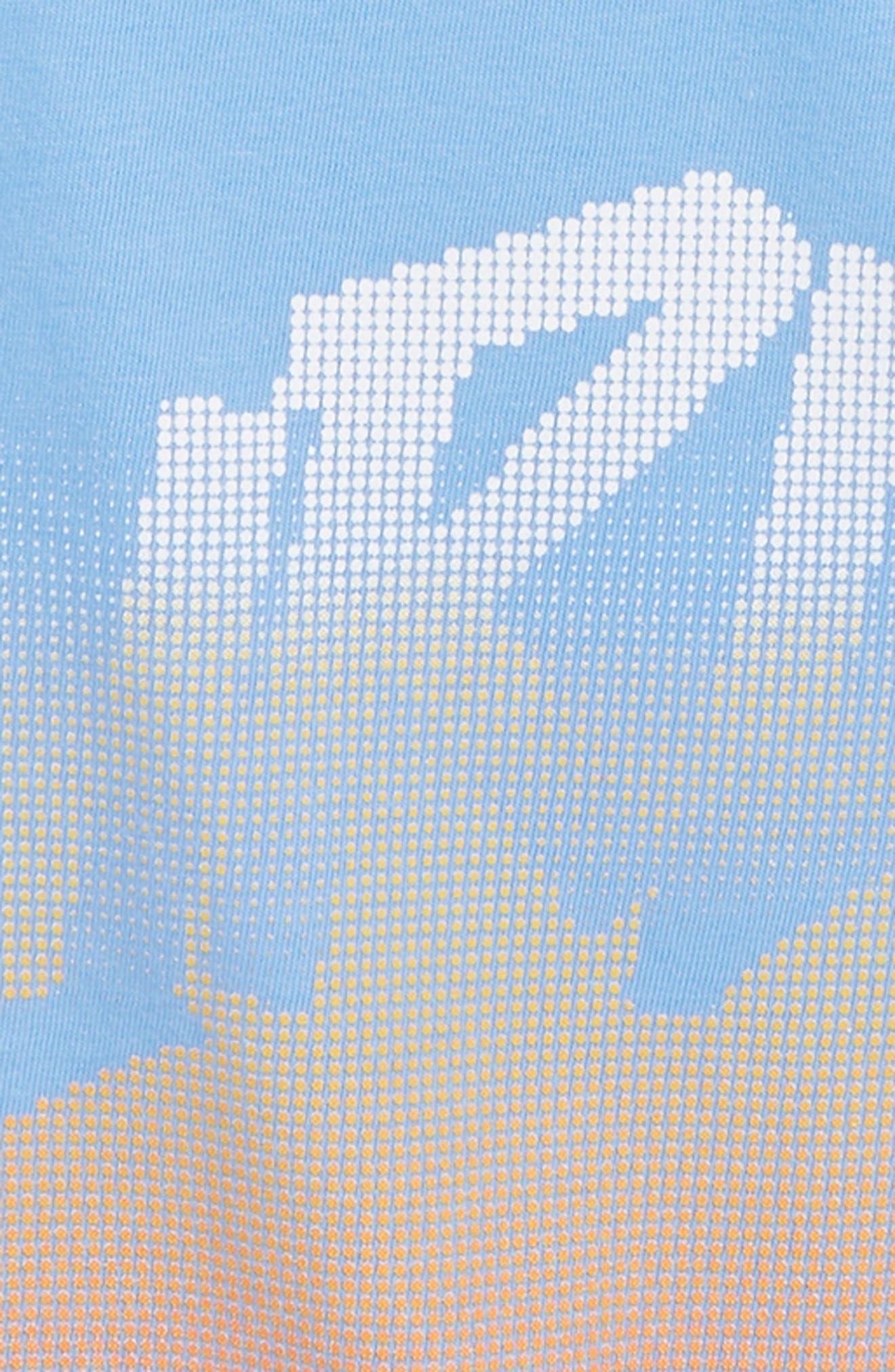 Bitmapped T-Shirt,                             Alternate thumbnail 2, color,                             LIGHT BLUE