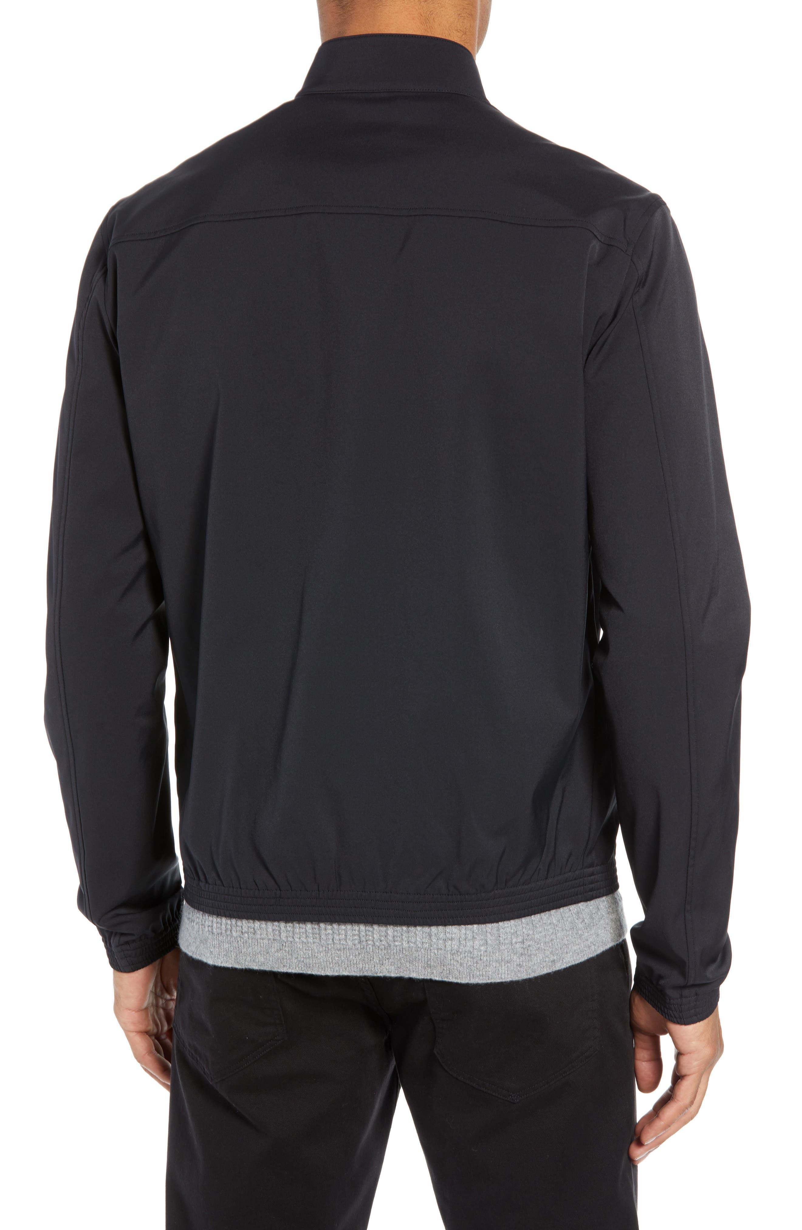 Tremont Neoteric Regular Fit Jacket,                             Alternate thumbnail 2, color,                             BLACK