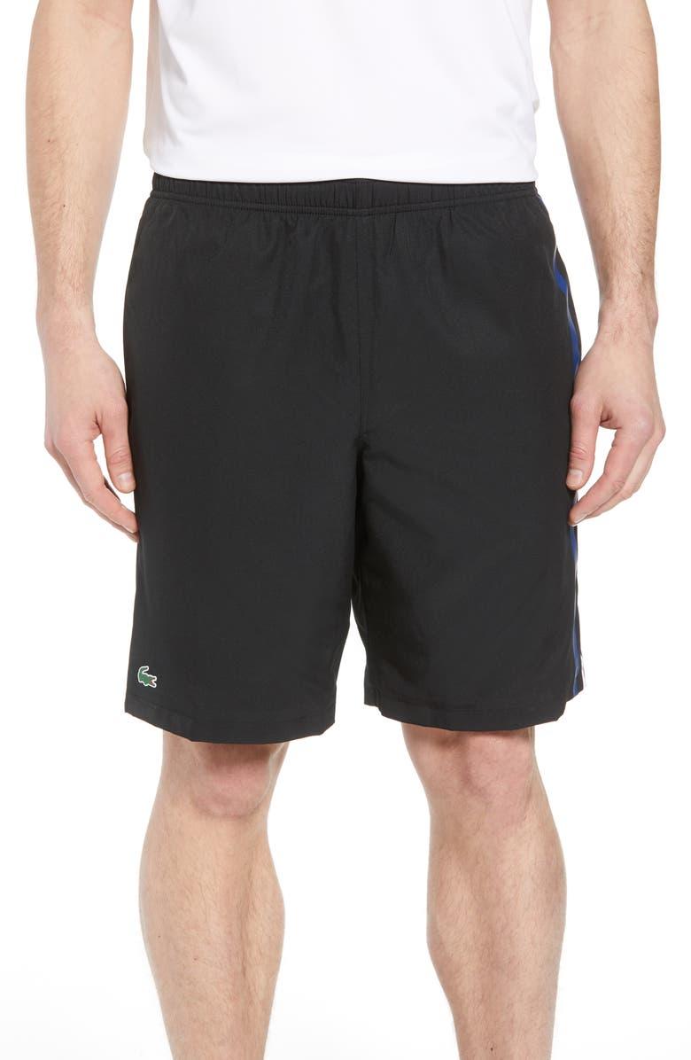 c86e56b7406fa Lacoste Side Stripe Shorts