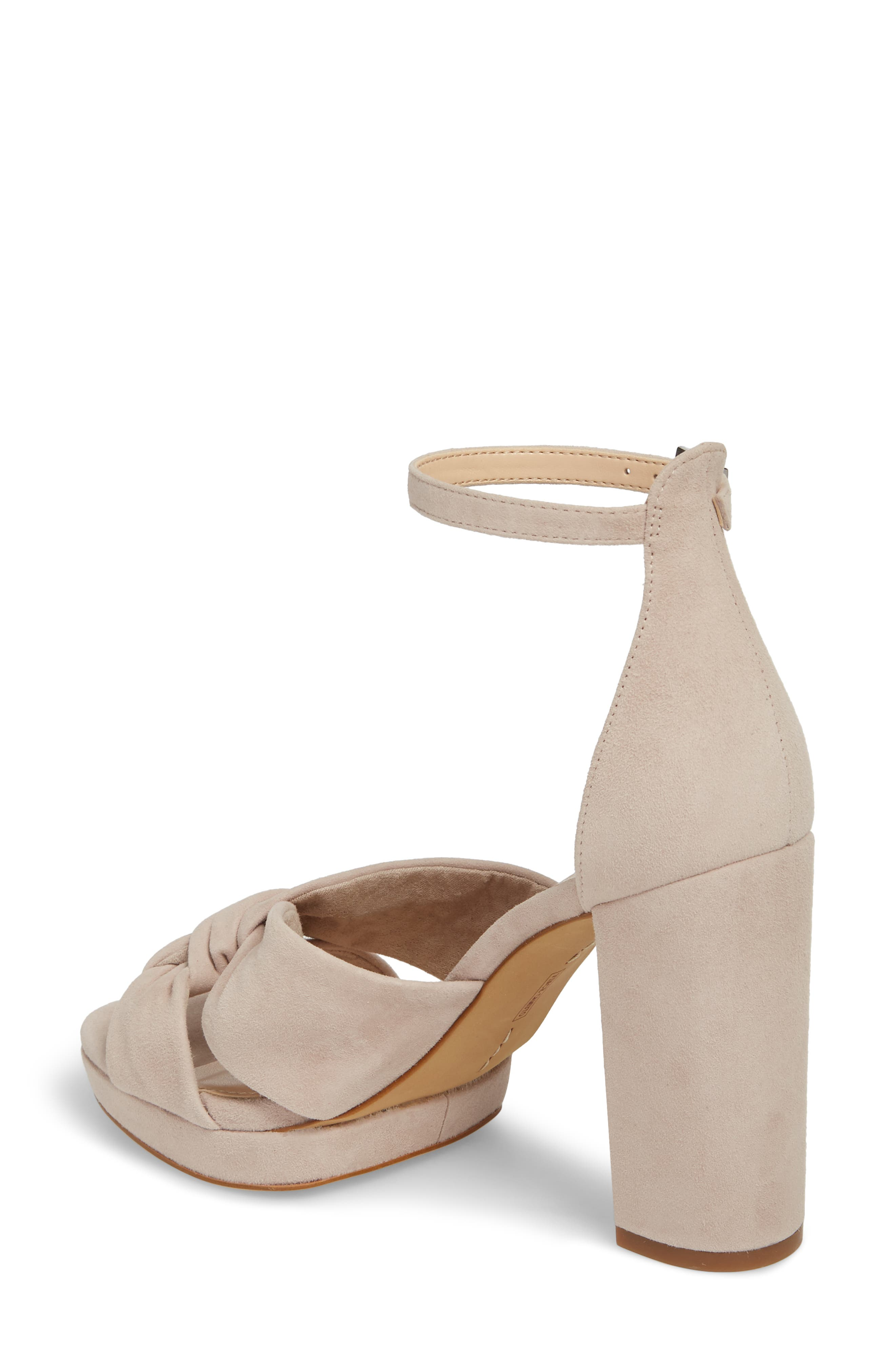 Corlesta Sandal,                             Alternate thumbnail 2, color,                             TIPSY TAUPE SUEDE
