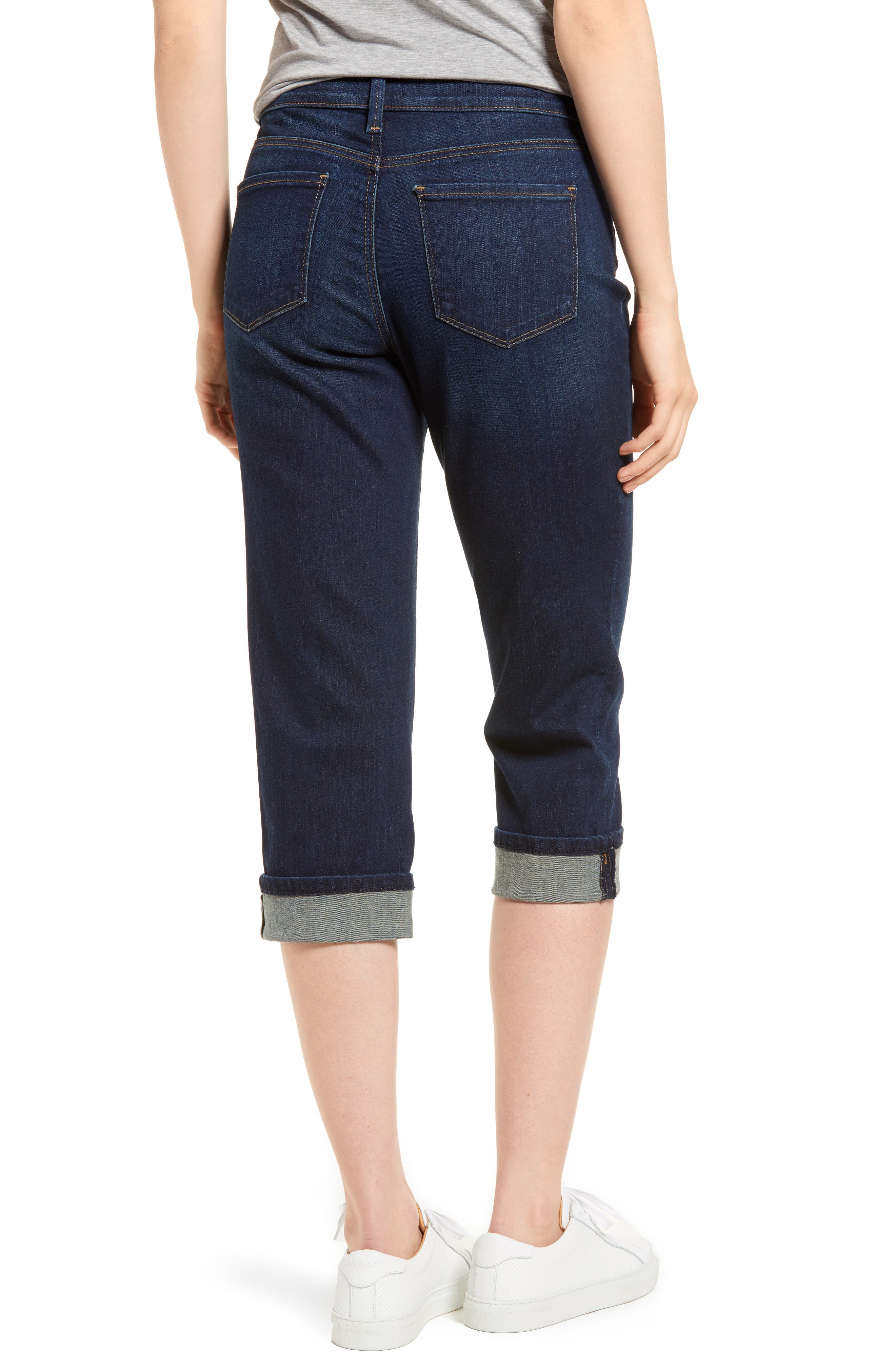 Marilyn Cropped Cuff Jeans,                             Alternate thumbnail 2, color,                             421