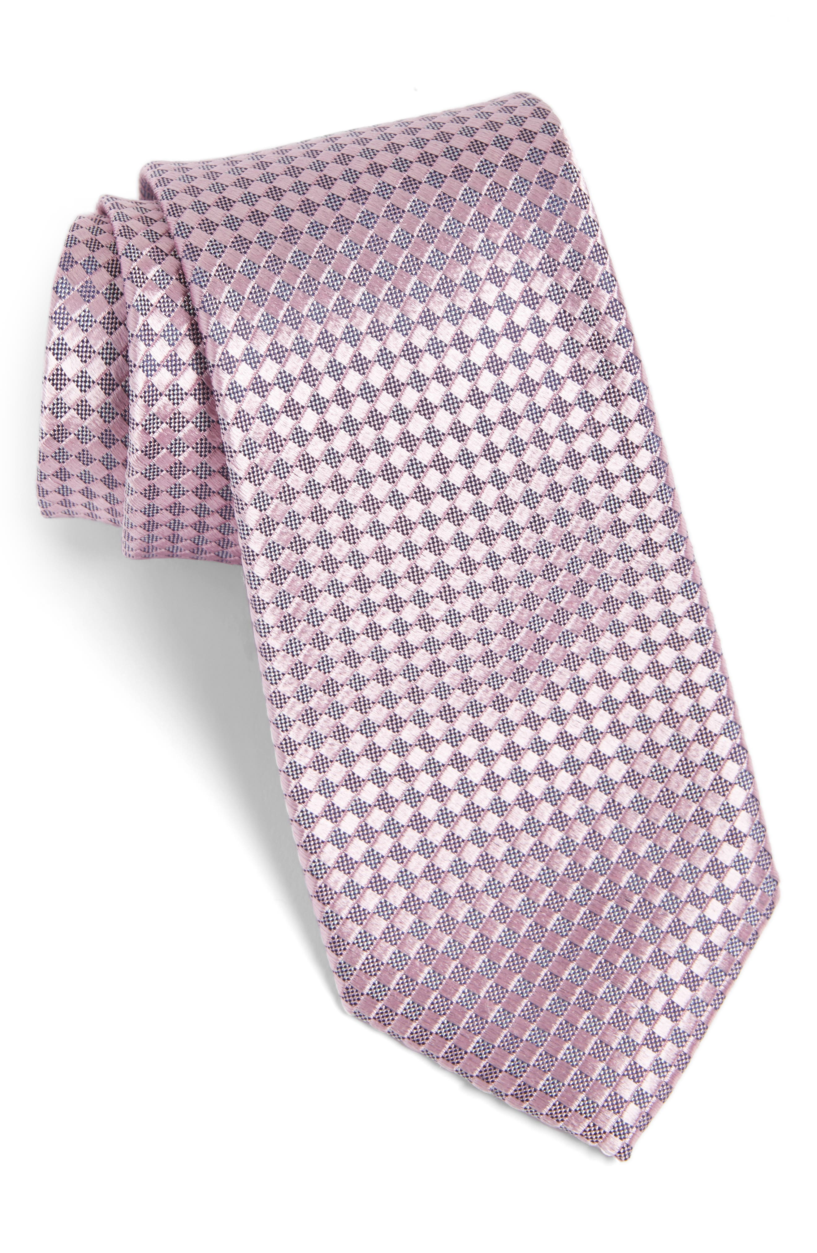 Artesia Check Silk Tie,                             Main thumbnail 10, color,