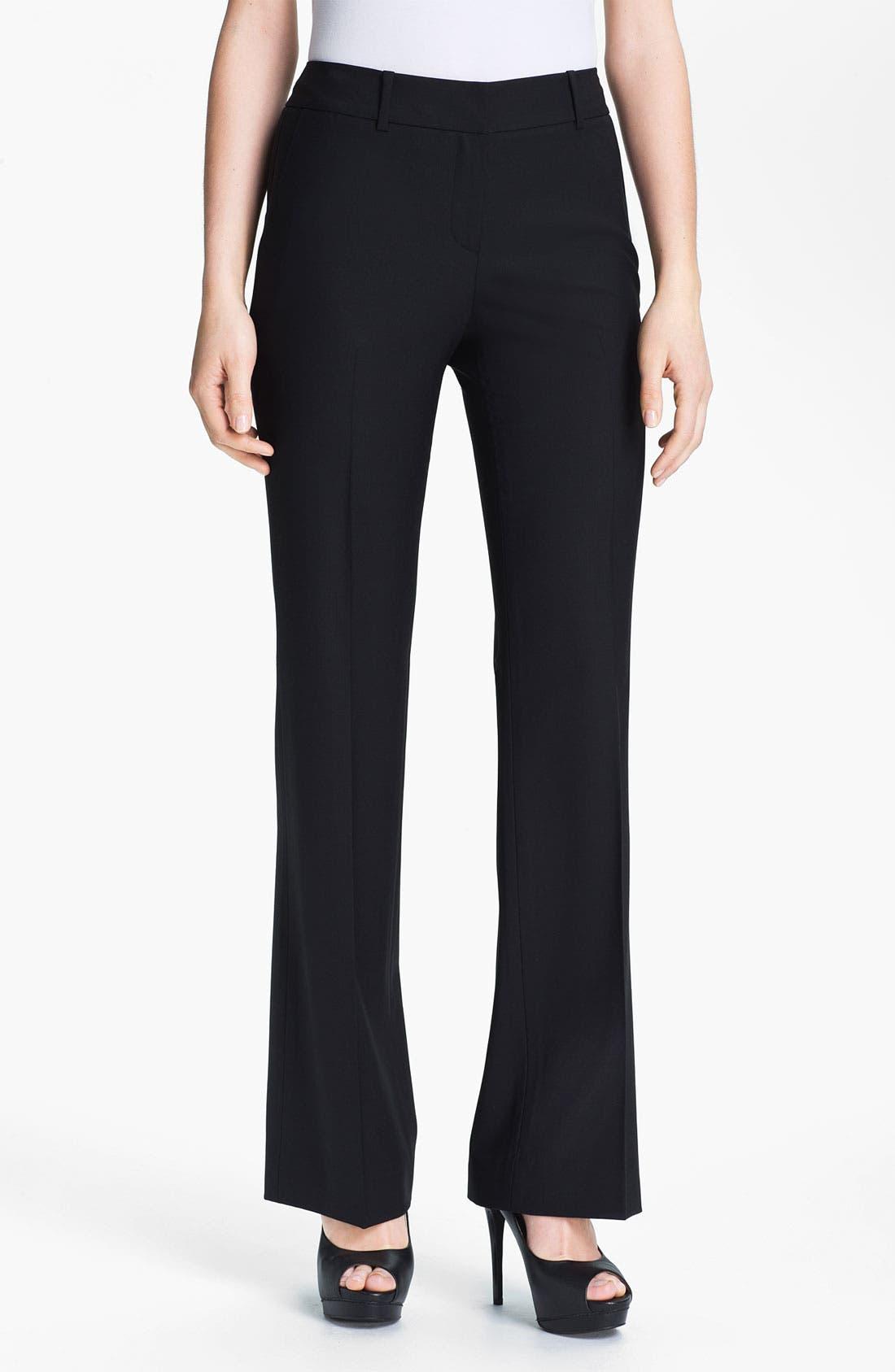 Classiques Entier Stretch Wool Pants,                         Main,                         color, 001