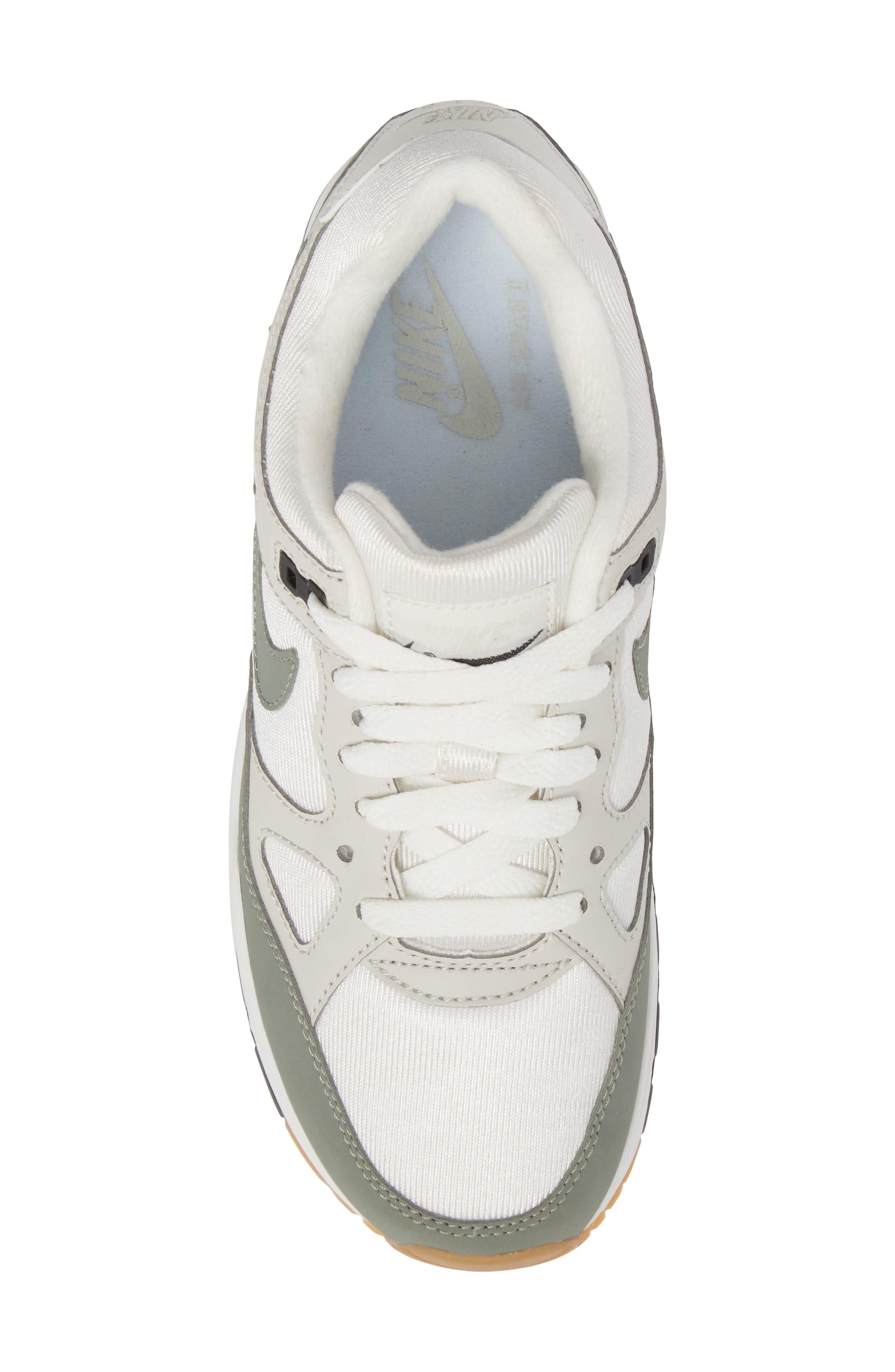 NIKE,                             Air Span II Sneaker,                             Alternate thumbnail 5, color,                             020