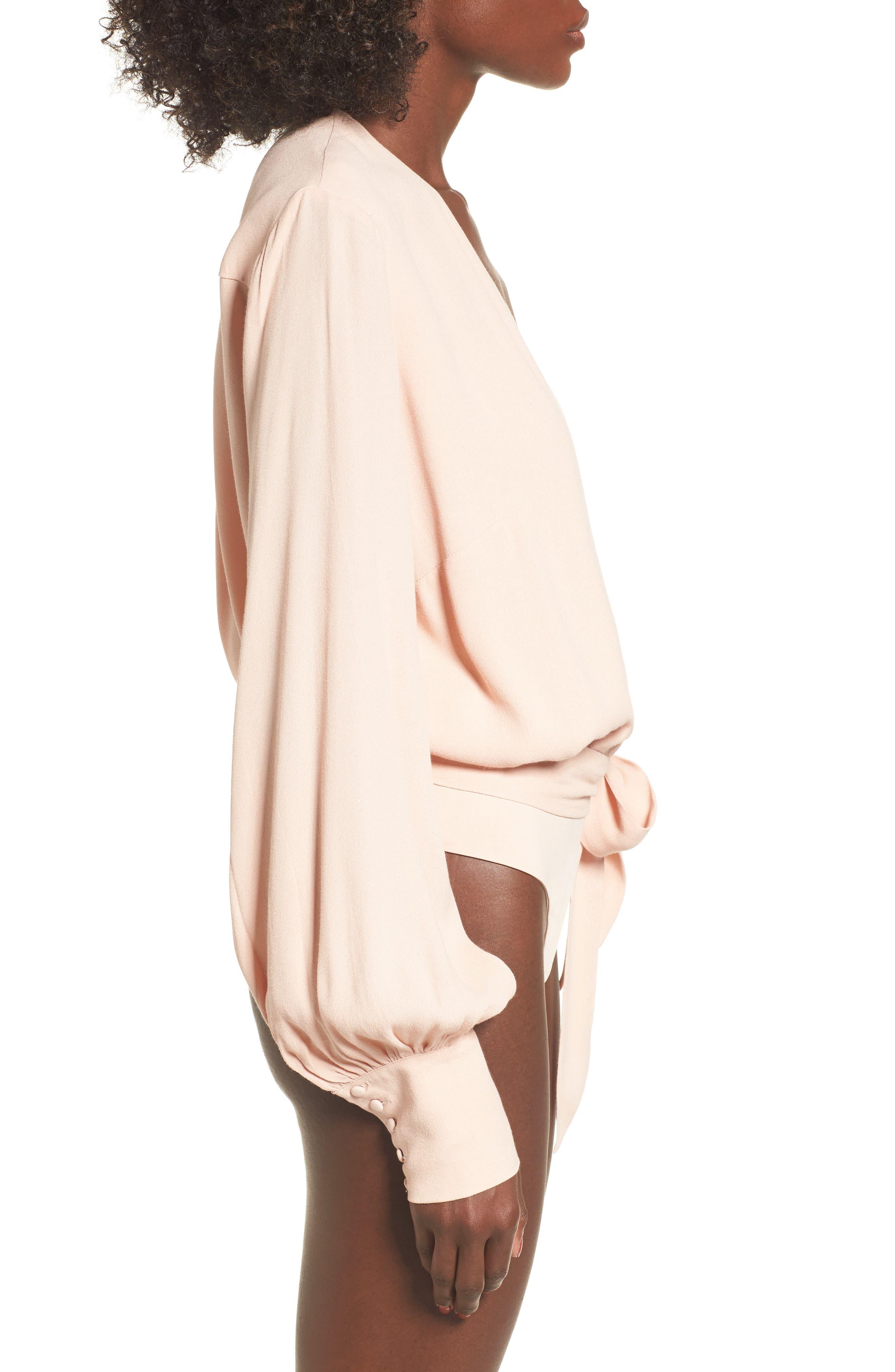 Sofie Thong Bodysuit & Scarf,                             Alternate thumbnail 20, color,