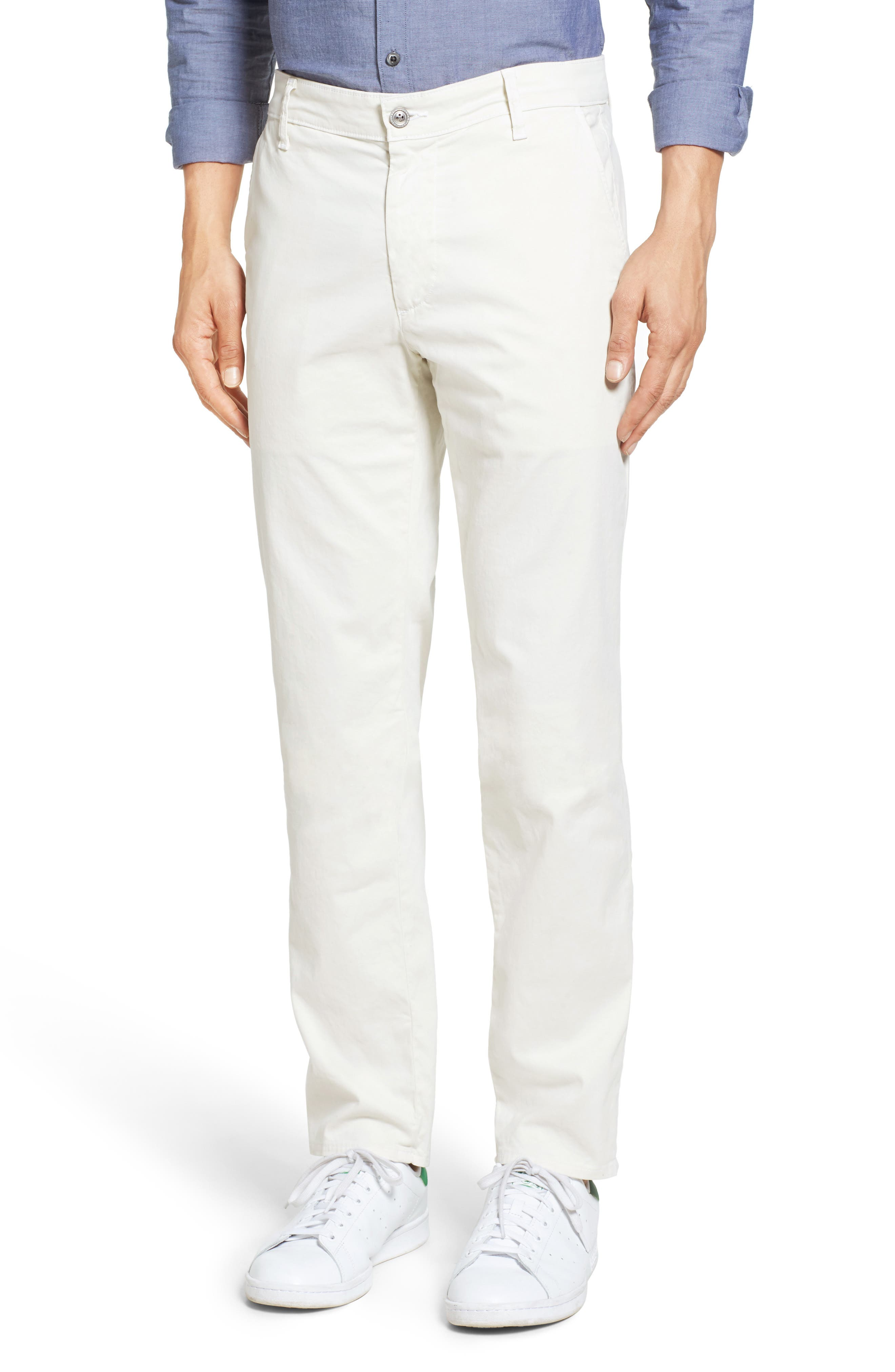 'The Lux' Tailored Straight Leg Chinos,                             Main thumbnail 5, color,