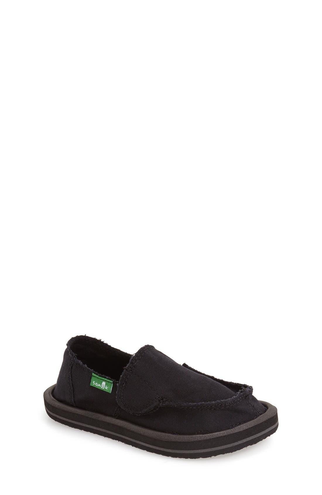 'Donny & Donna' Slip-On,                         Main,                         color, BLACK