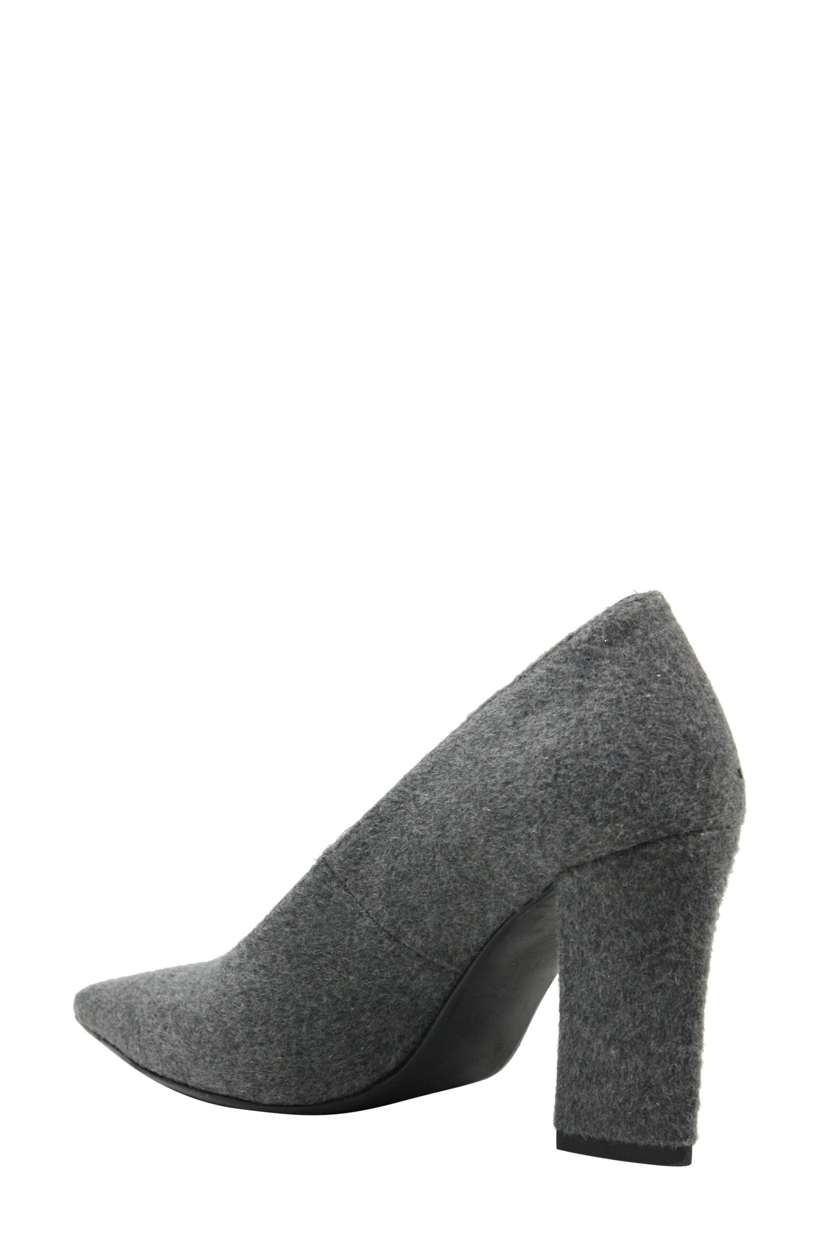 J. RENEÉ,                             Madisson Pointy Toe Pump,                             Alternate thumbnail 2, color,                             GREY FABRIC