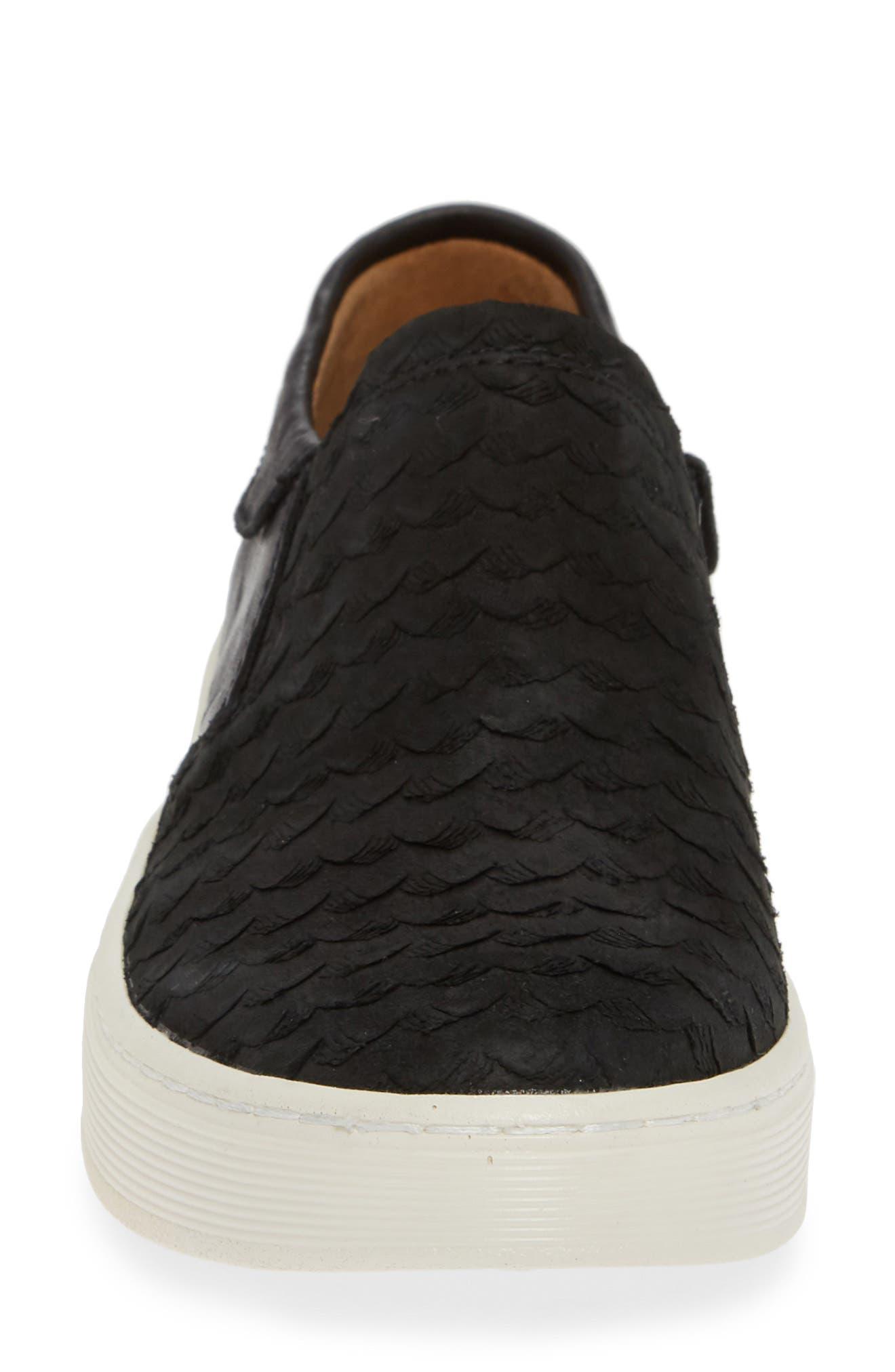 SÖFFT,                             Somers III Slip-On Sneaker,                             Alternate thumbnail 4, color,                             002
