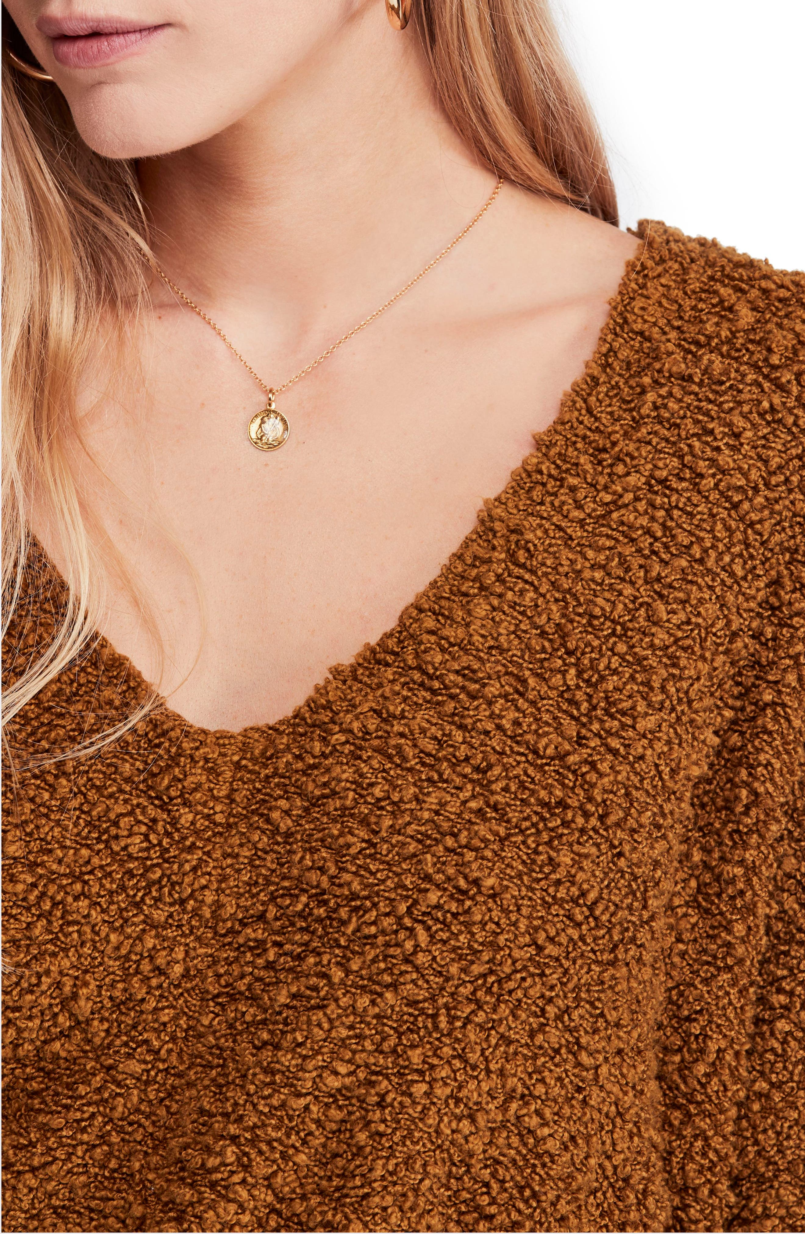 Popcorn Sweater,                             Alternate thumbnail 4, color,                             200