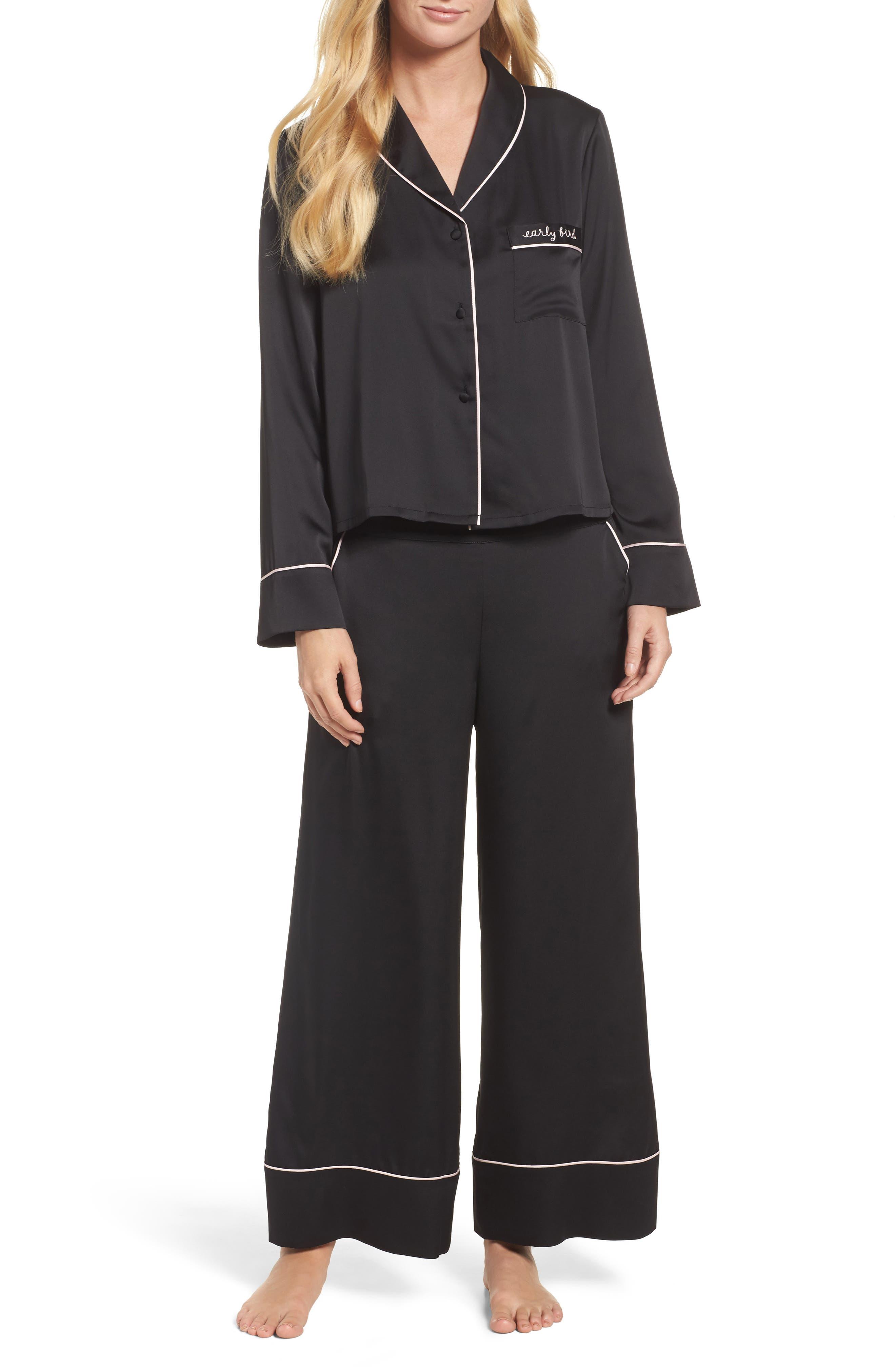 crop pajamas,                         Main,                         color, 001