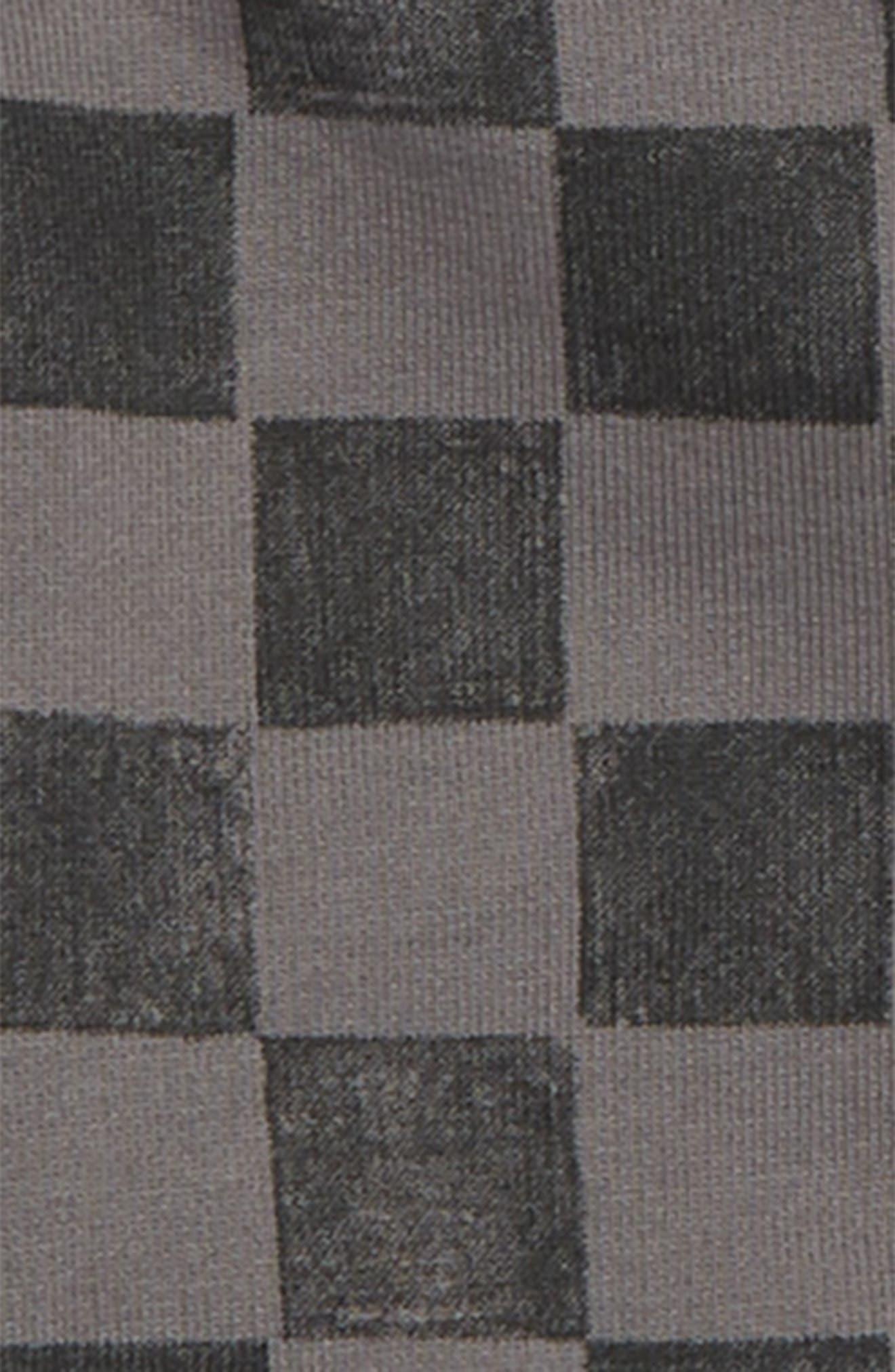 Checkerboard Zip Hoodie,                             Alternate thumbnail 2, color,                             099