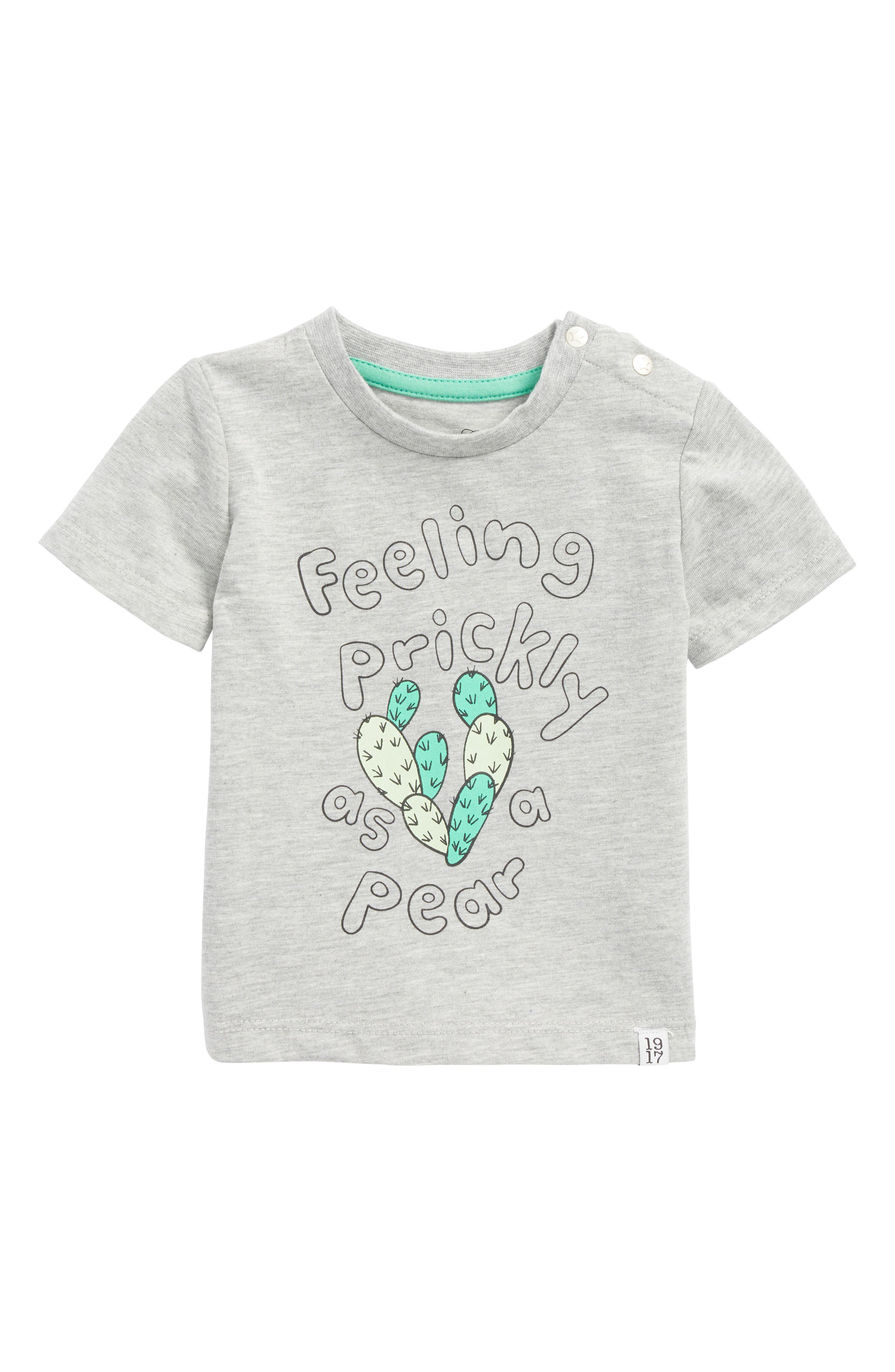 Feeling Prickly T-Shirt,                             Main thumbnail 1, color,