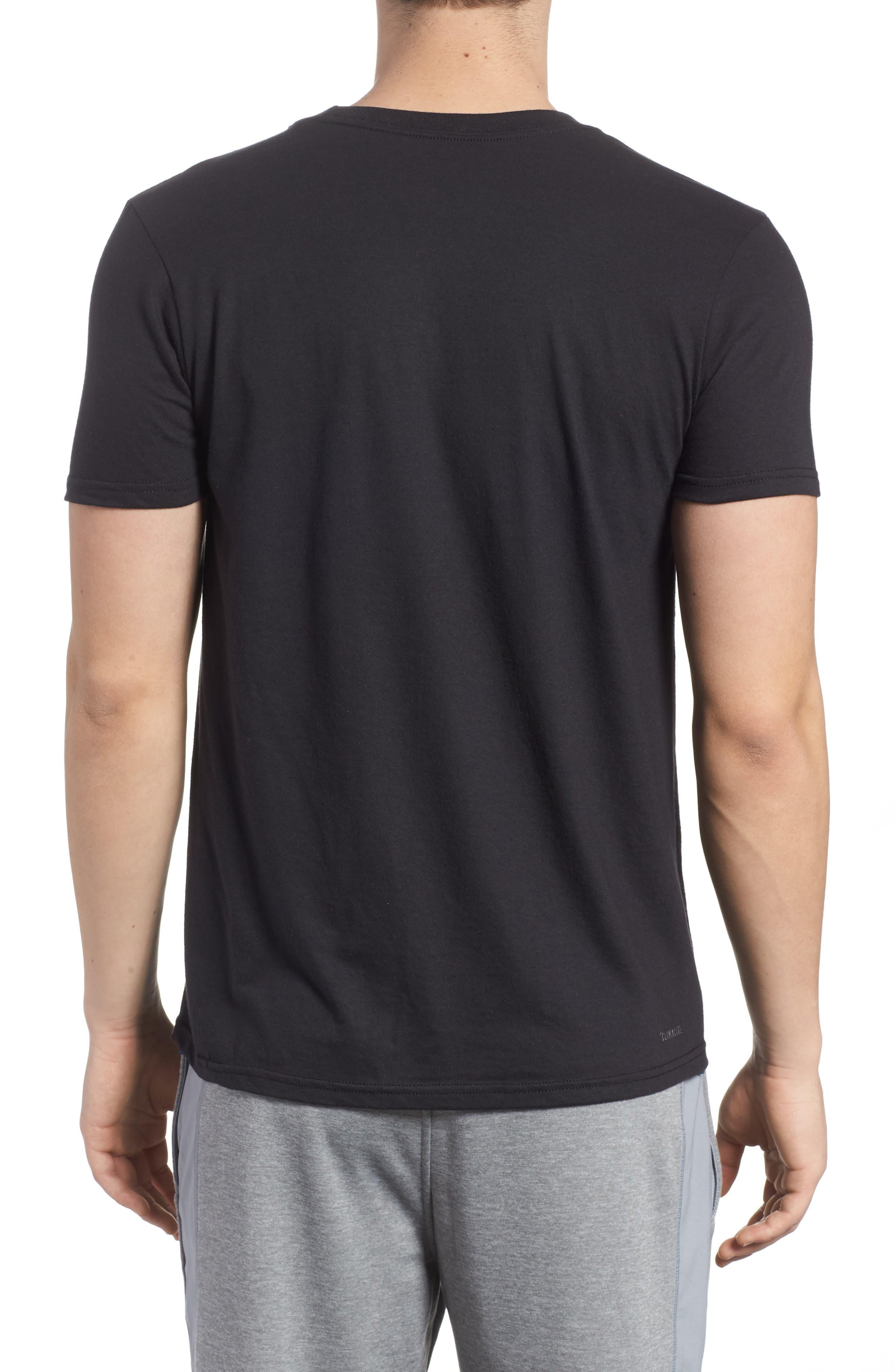 Bos Split T-Shirt,                             Alternate thumbnail 2, color,                             001