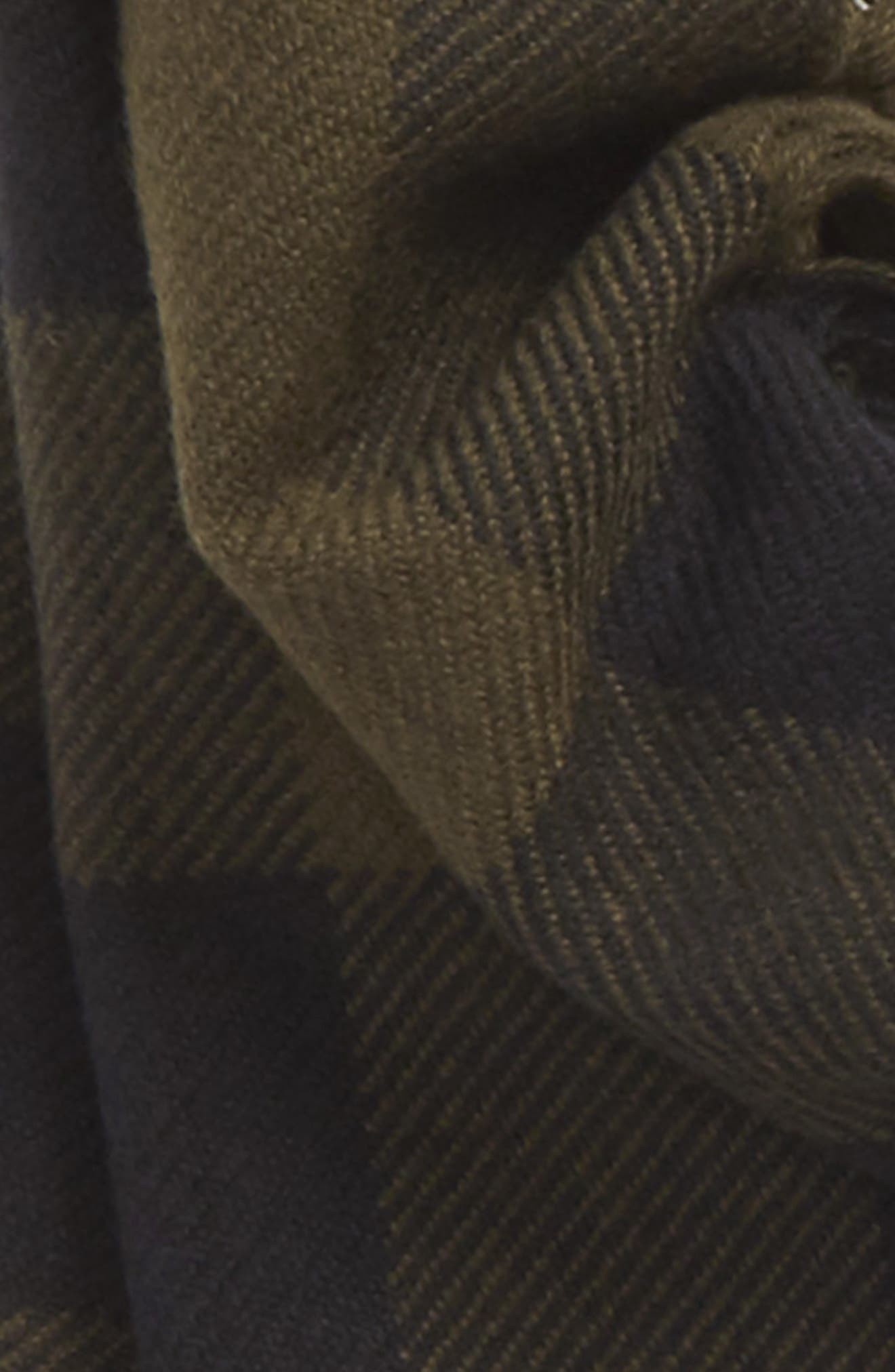 Half Mega Fashion Wool Fringe Scarf,                             Alternate thumbnail 3, color,                             311