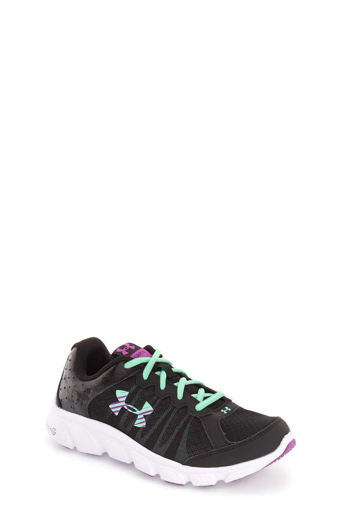'Micro G<sup>®</sup> Assert VI' Running Shoe,                             Main thumbnail 1, color,