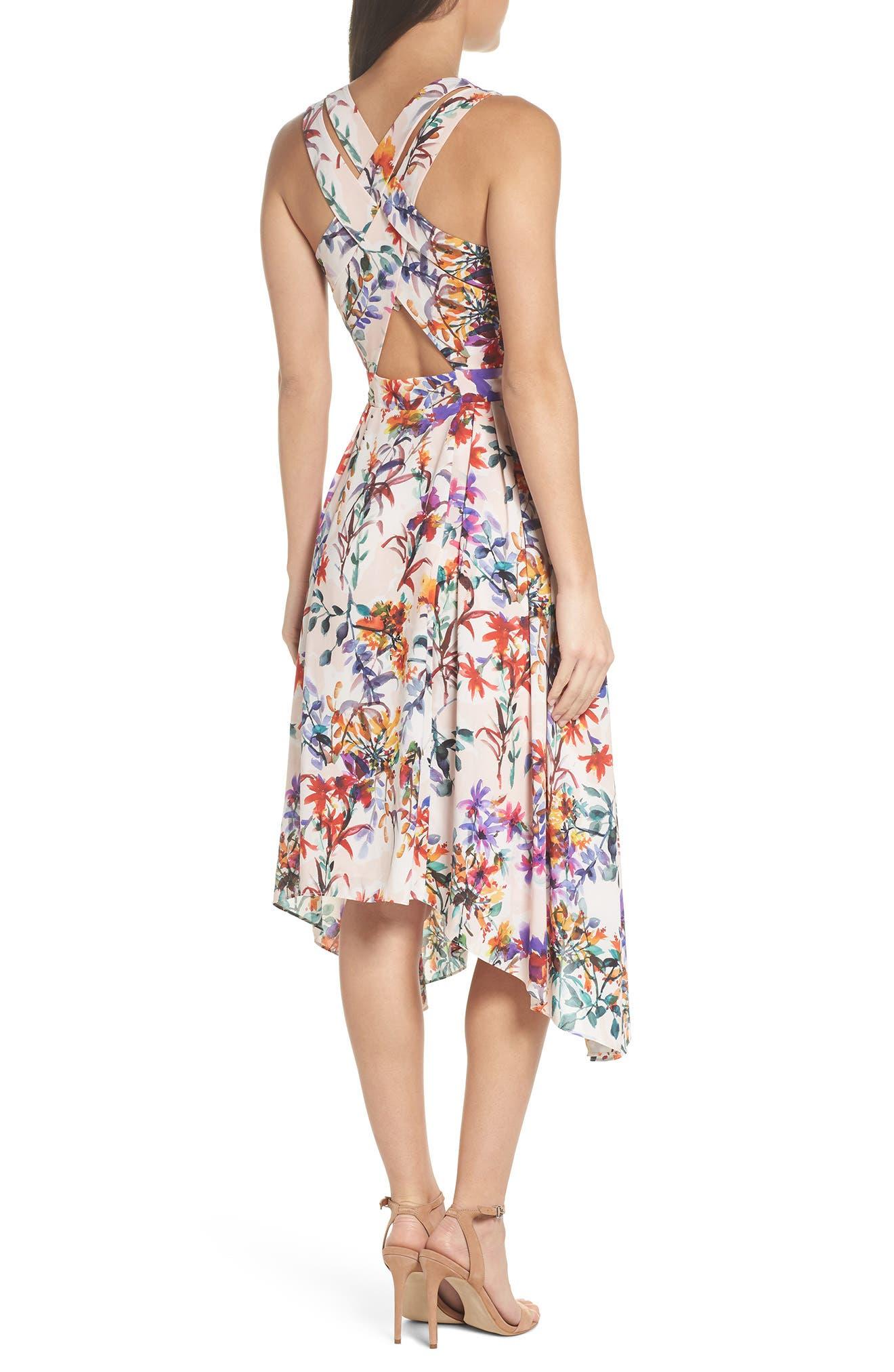 Vanessa Midi Dress,                             Alternate thumbnail 2, color,                             680