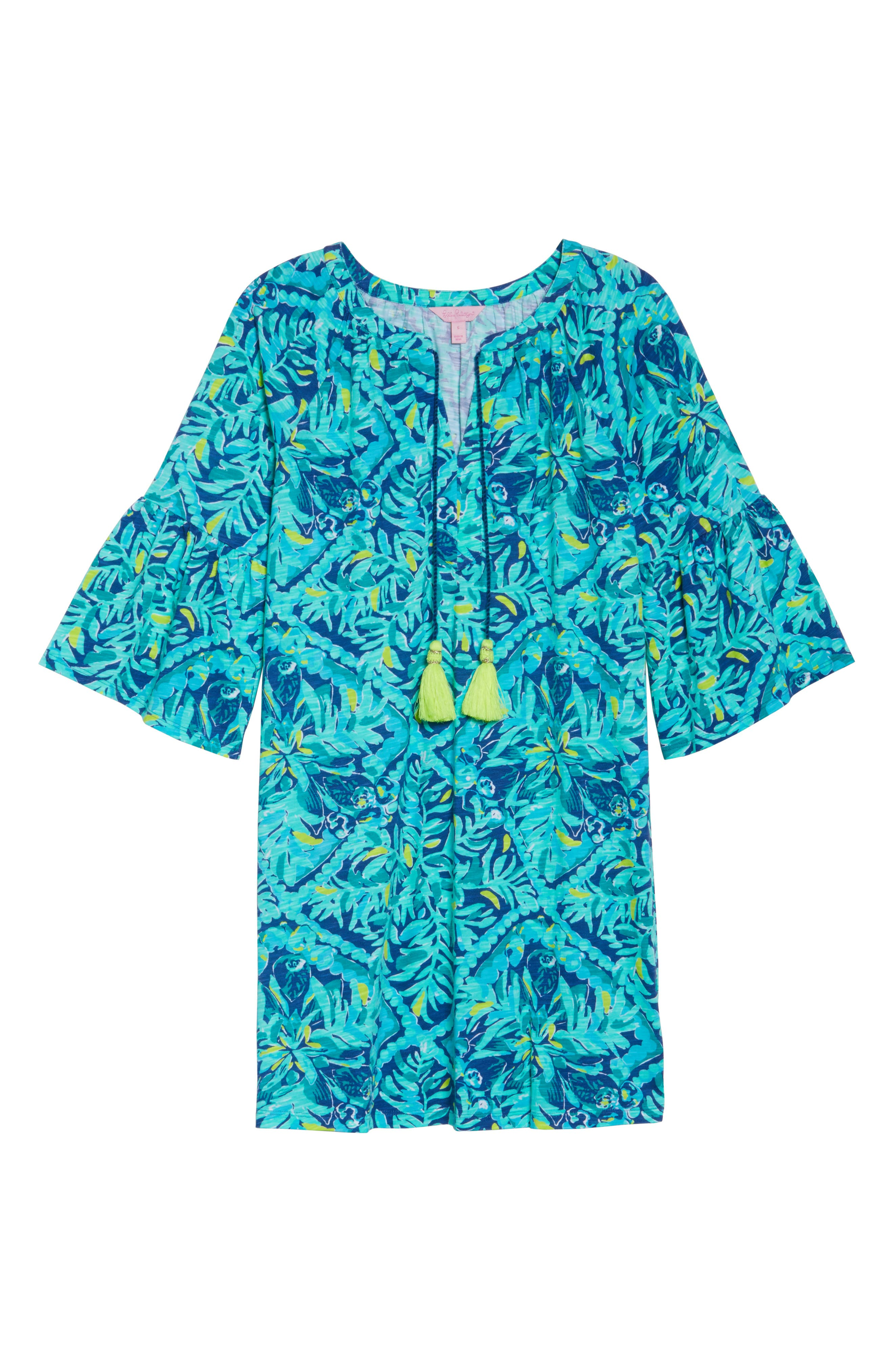 Del Lago Tunic Dress,                             Alternate thumbnail 6, color,