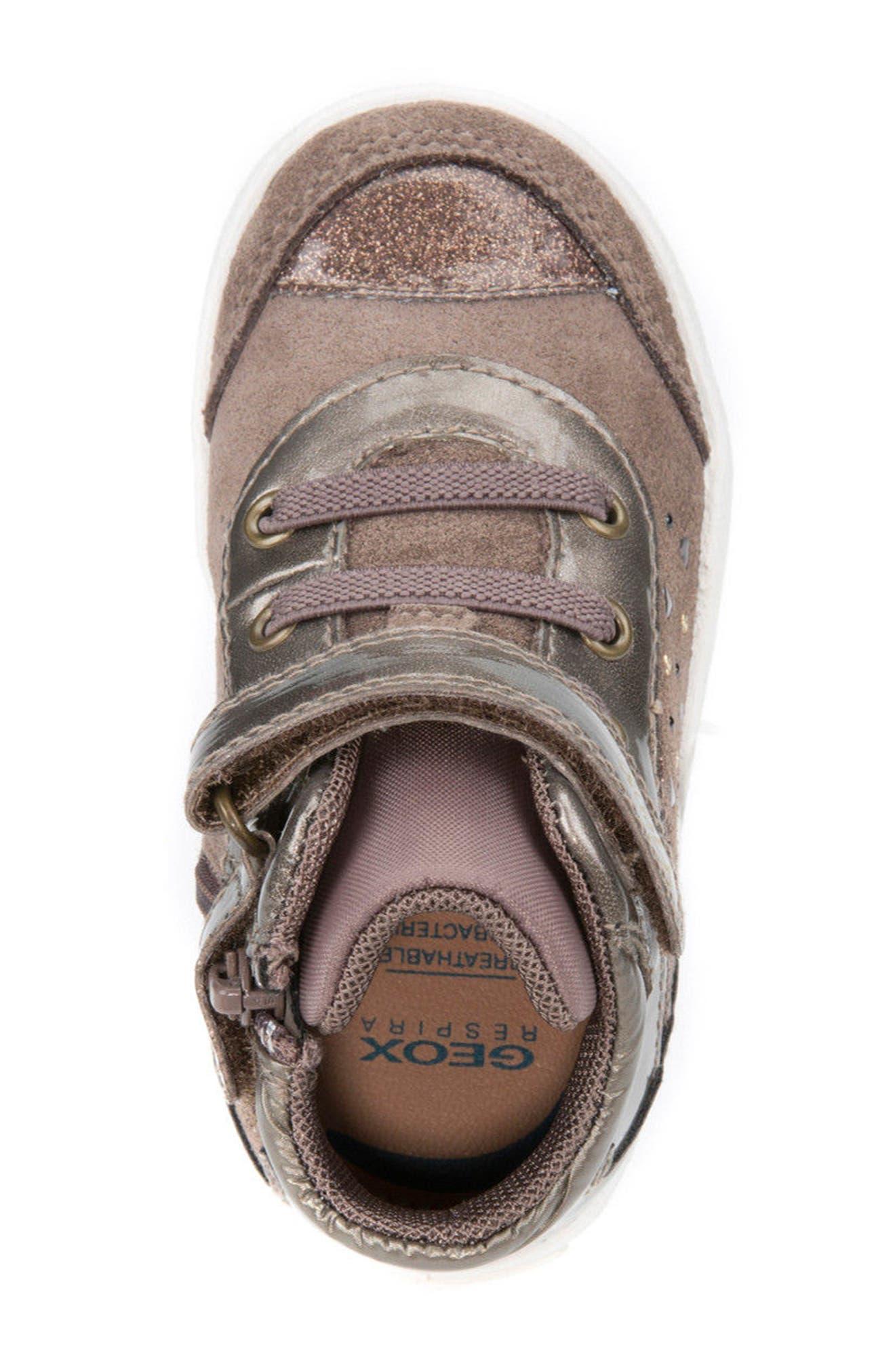 Kiwi Girl Studded High Top Sneaker,                             Alternate thumbnail 15, color,