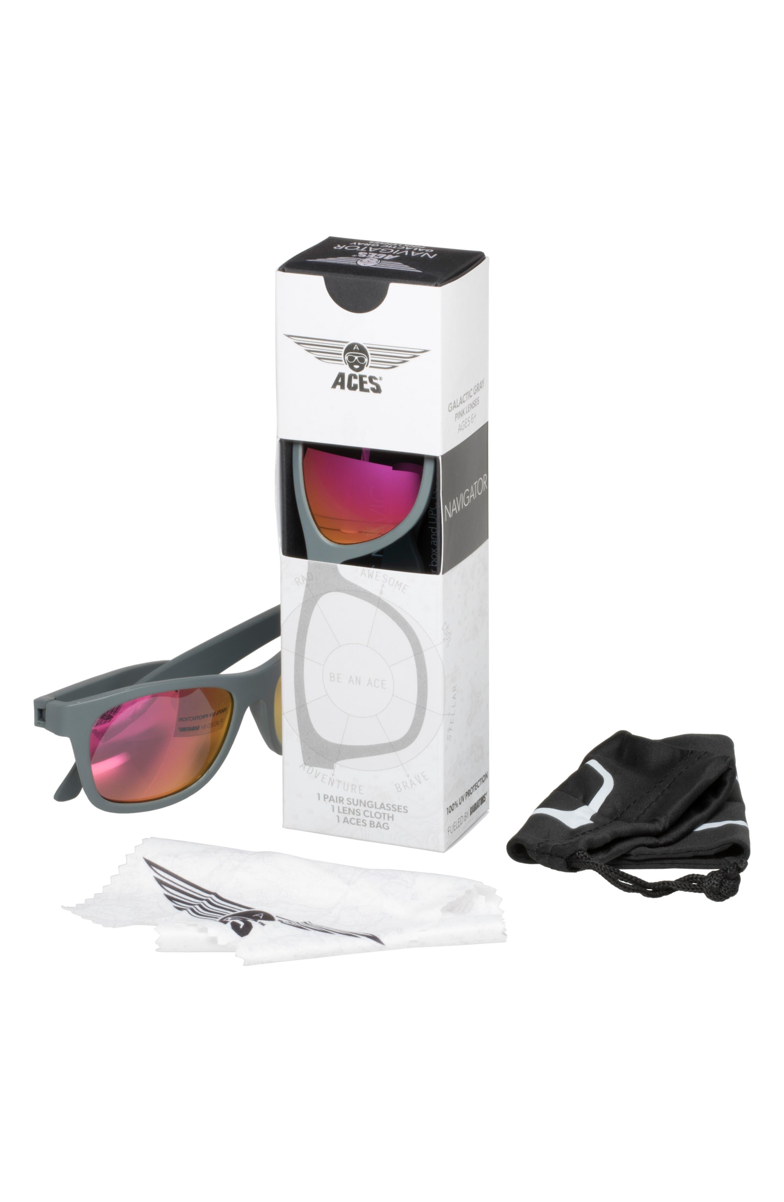 Aces Navigator Sunglasses,                             Alternate thumbnail 2, color,                             020