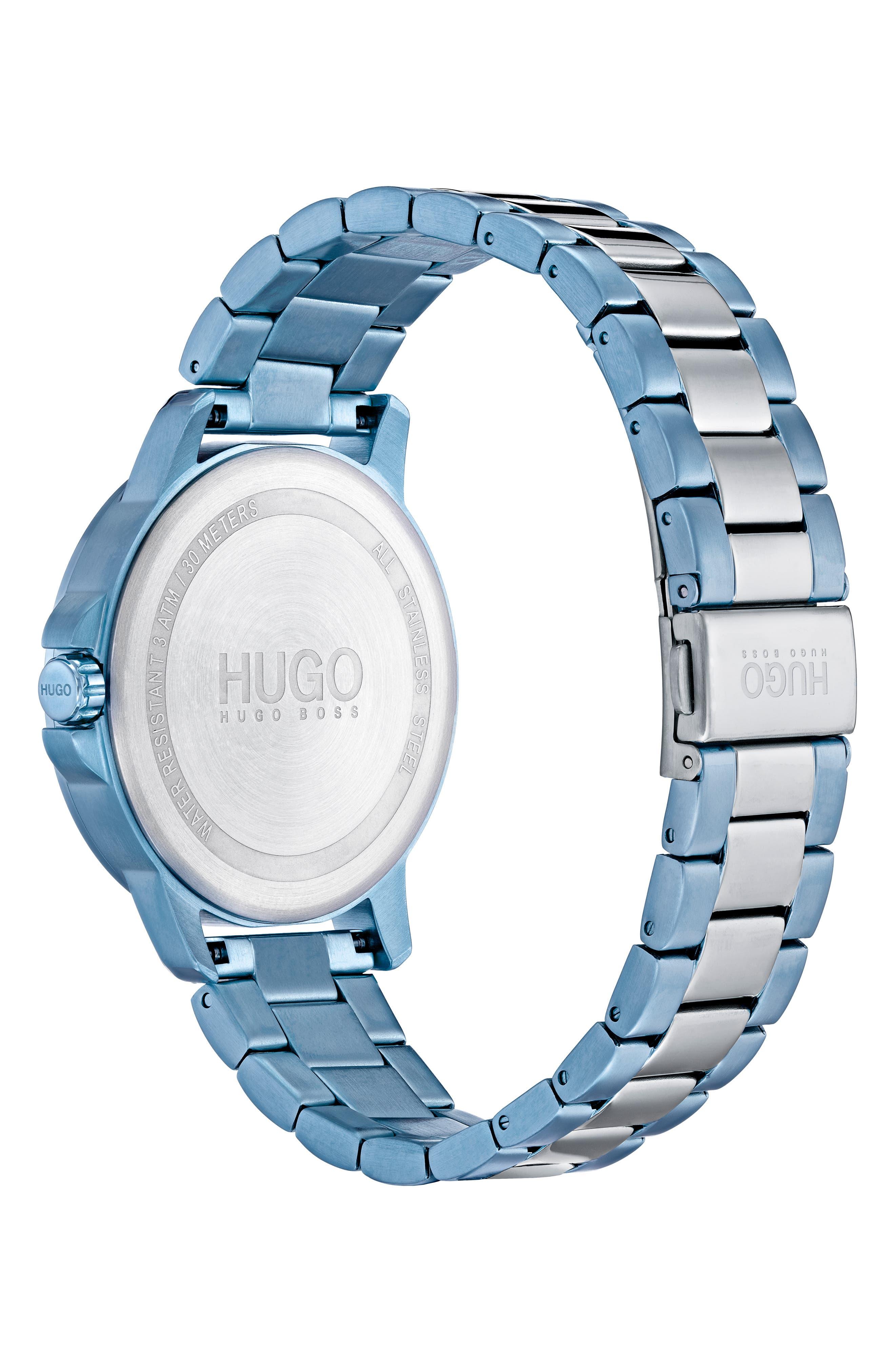 Focus Bracelet Watch, 42mm,                             Alternate thumbnail 2, color,                             GREY