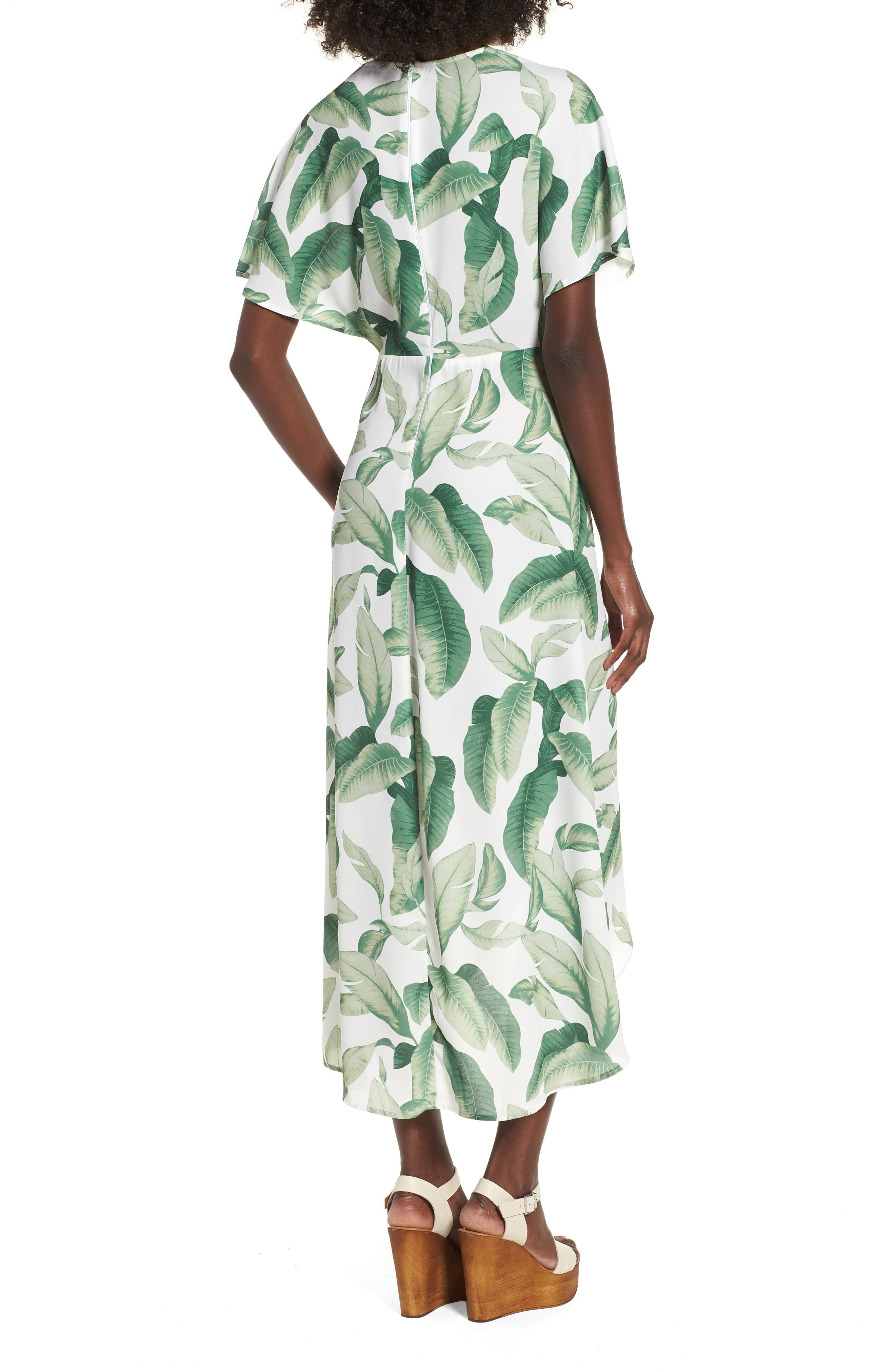 Print Maxi Dress,                             Alternate thumbnail 2, color,                             300