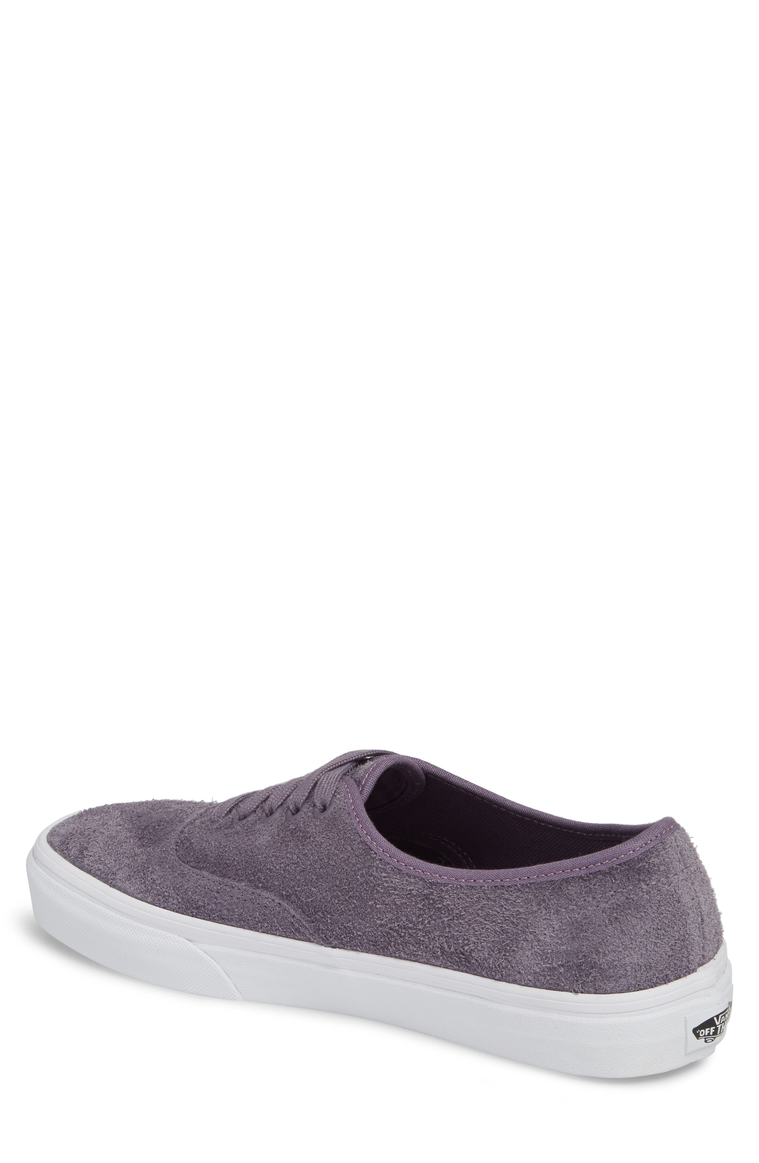 Authentic Hairy Suede Low Top Sneaker,                             Alternate thumbnail 2, color,                             510