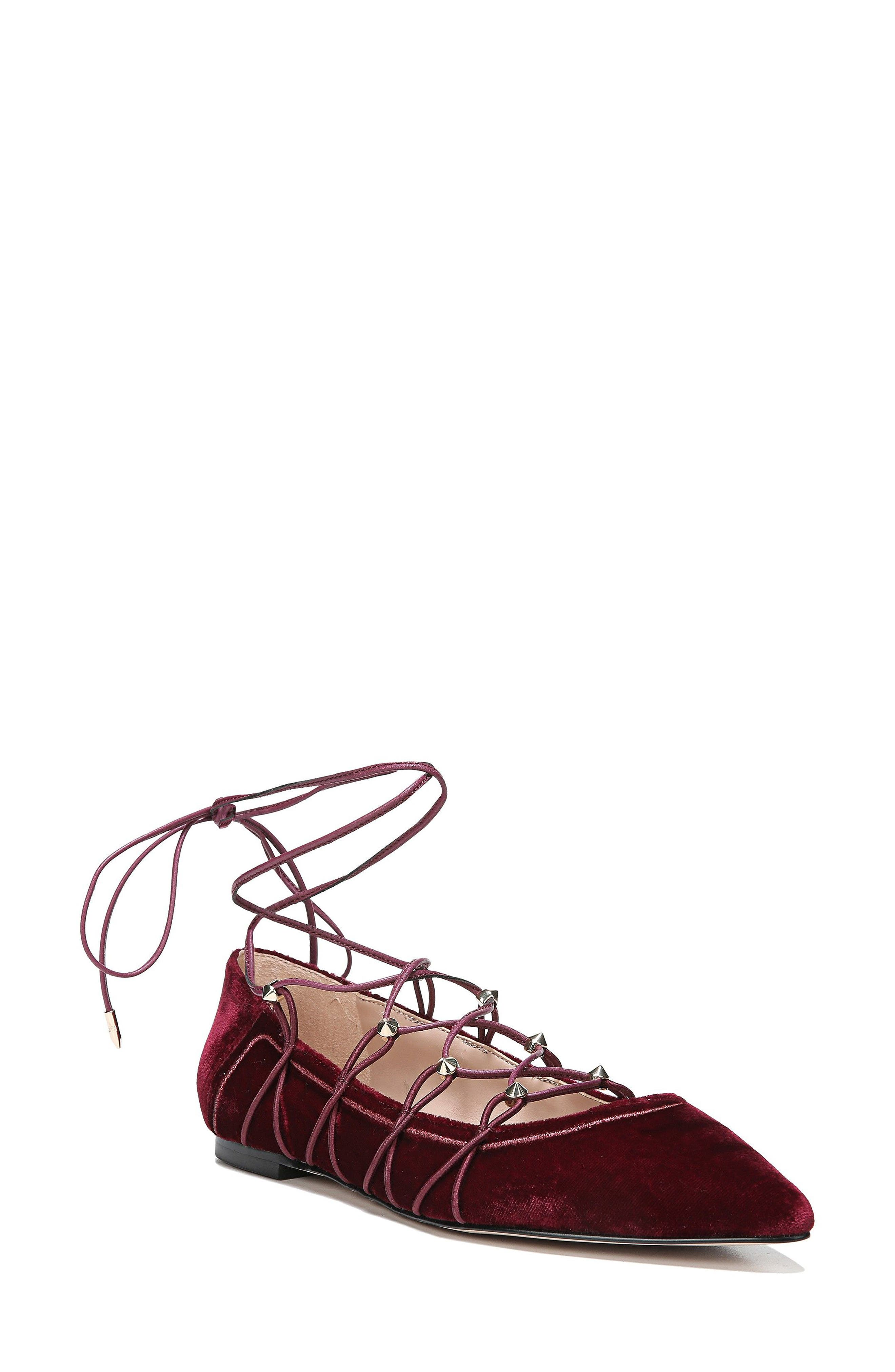 Rockwell Ghillie Pointy Toe Flat,                             Main thumbnail 2, color,