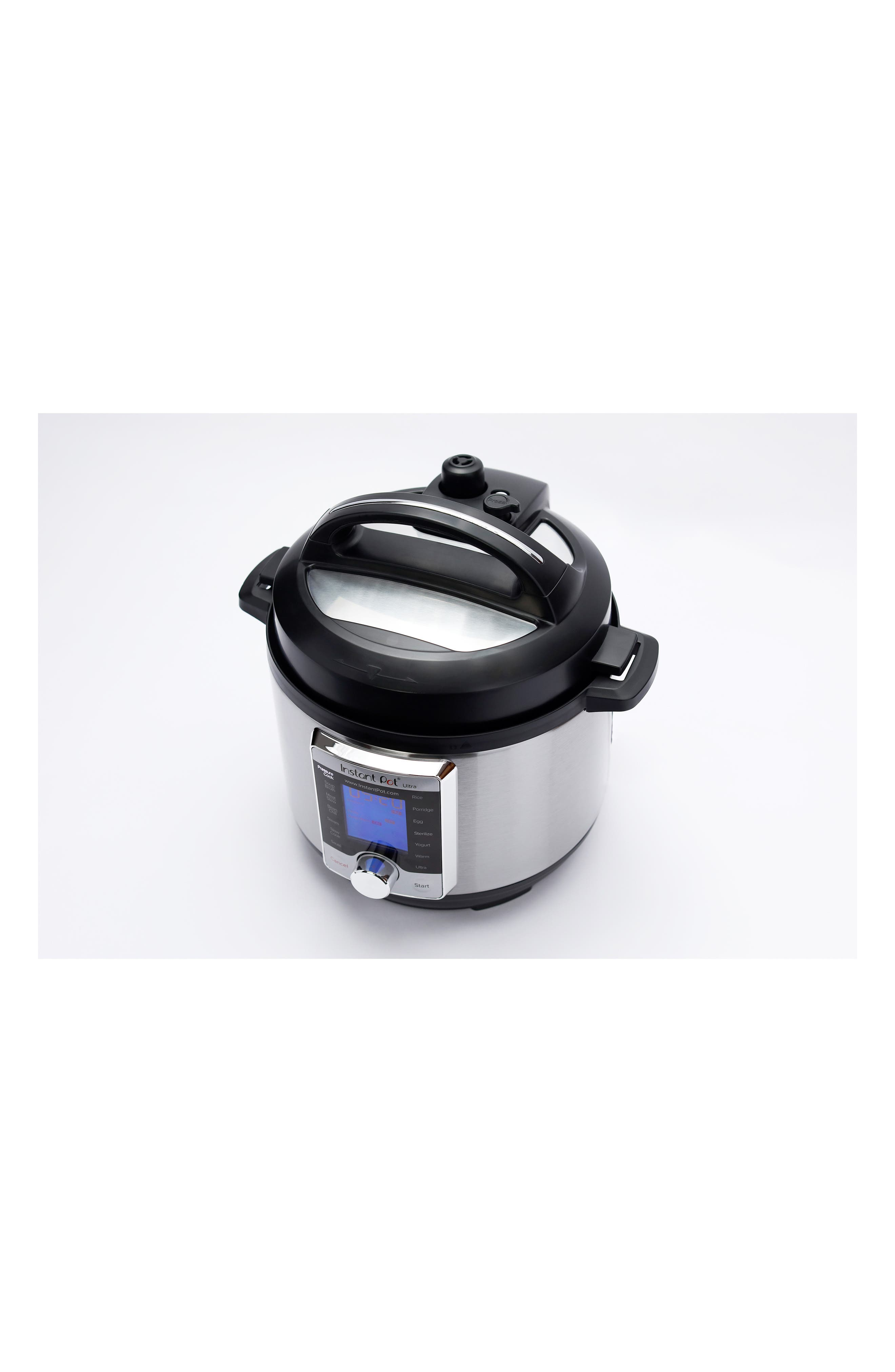 Ultra 8-Quart 10-in-1 Multiuse Programmable Cooker,                             Alternate thumbnail 3, color,                             SILVER