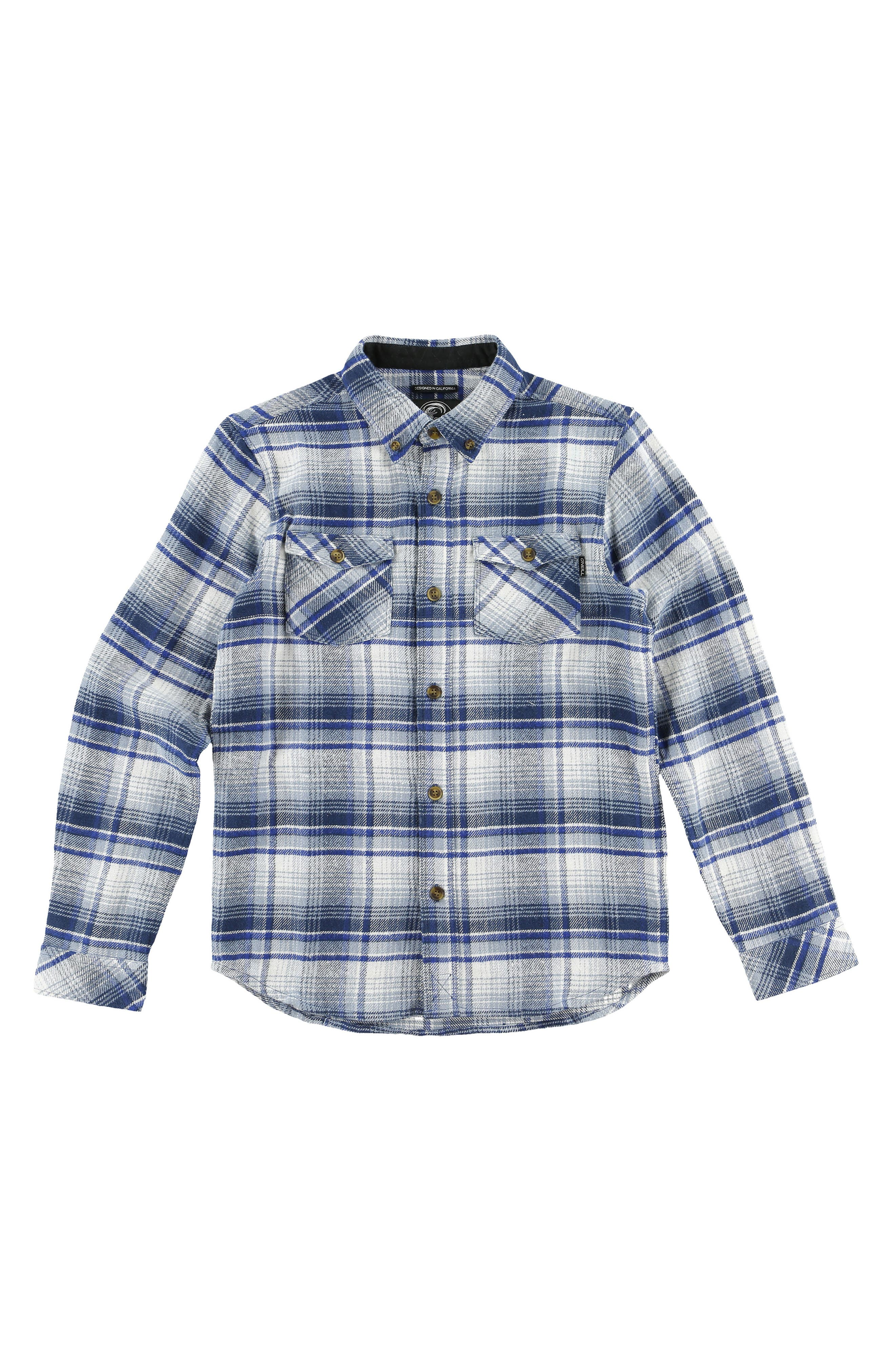 Butler Plaid Flannel Shirt,                             Alternate thumbnail 2, color,                             472
