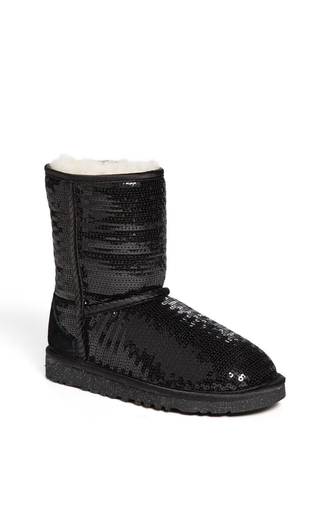 'Classic Short Sparkle' Boot,                             Main thumbnail 1, color,