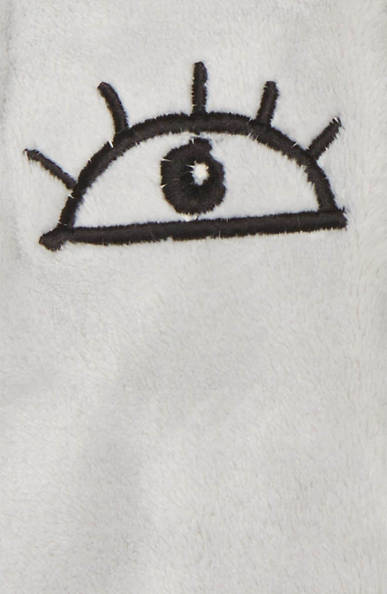 I Love You Fleece Vest,                             Alternate thumbnail 3, color,                             035