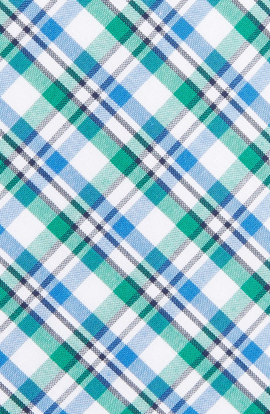 'Boomer' Plaid Cotton Tie,                             Alternate thumbnail 5, color,