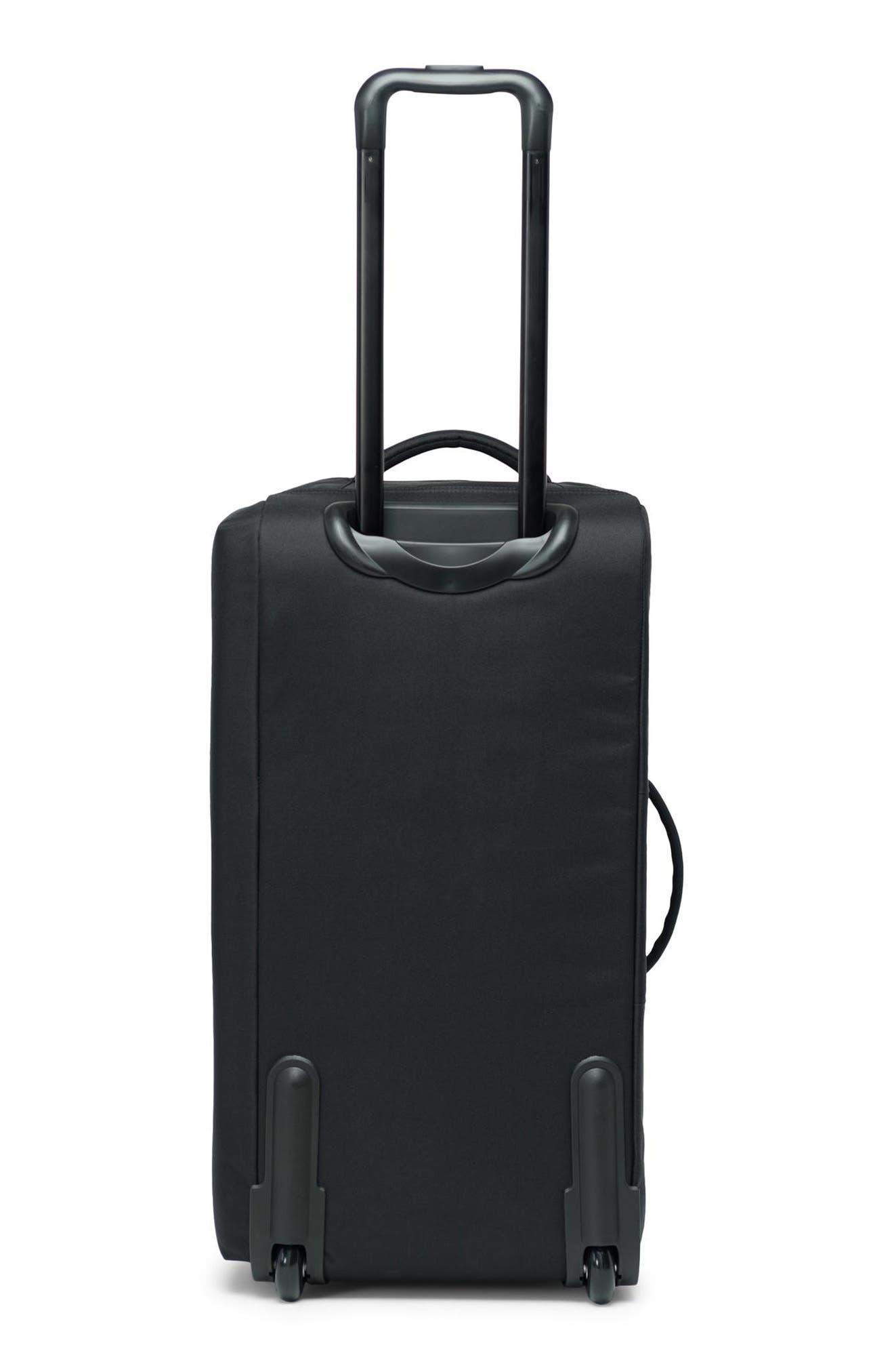 Wheelie Outfitter 24-Inch Duffel Bag,                             Alternate thumbnail 3, color,                             BLACK