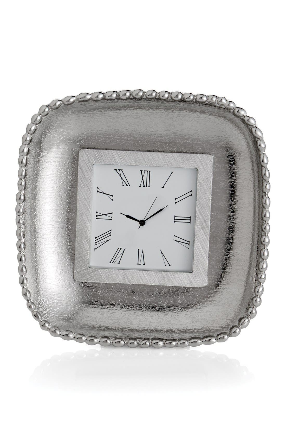 'Molten Frost' Mini Clock,                             Main thumbnail 1, color,