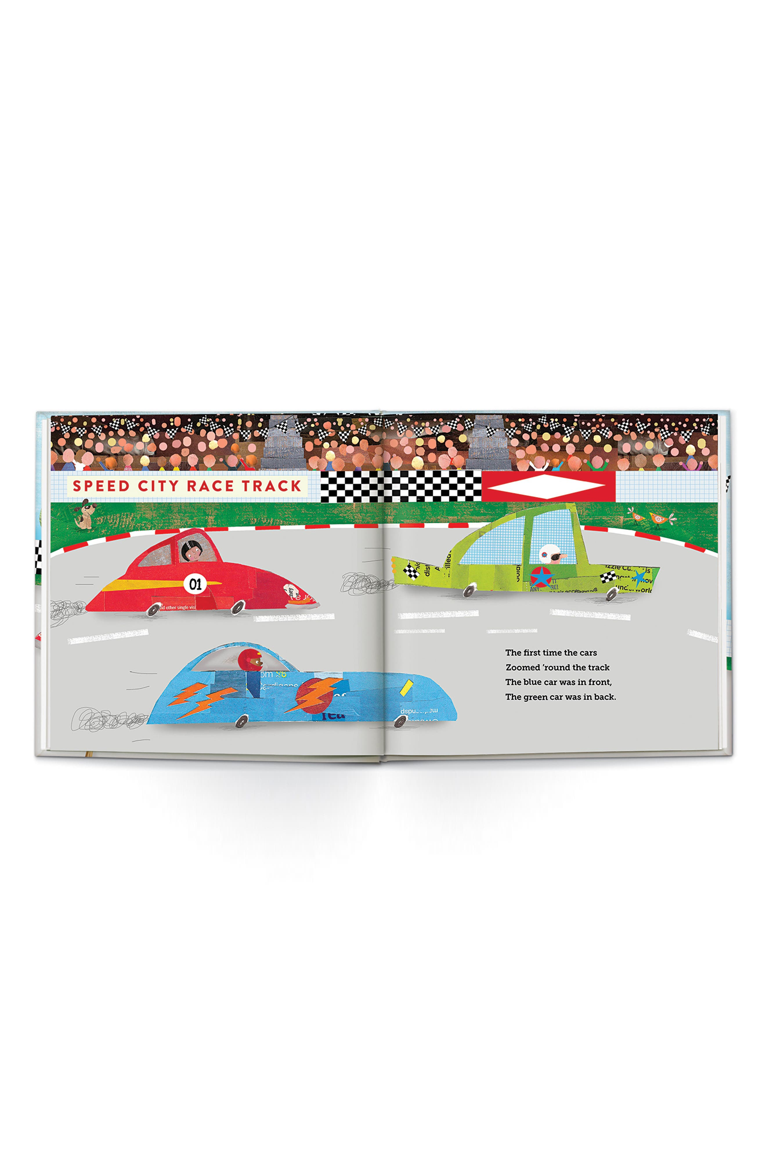 'Speedster' Personalized Book,                             Alternate thumbnail 4, color,                             200