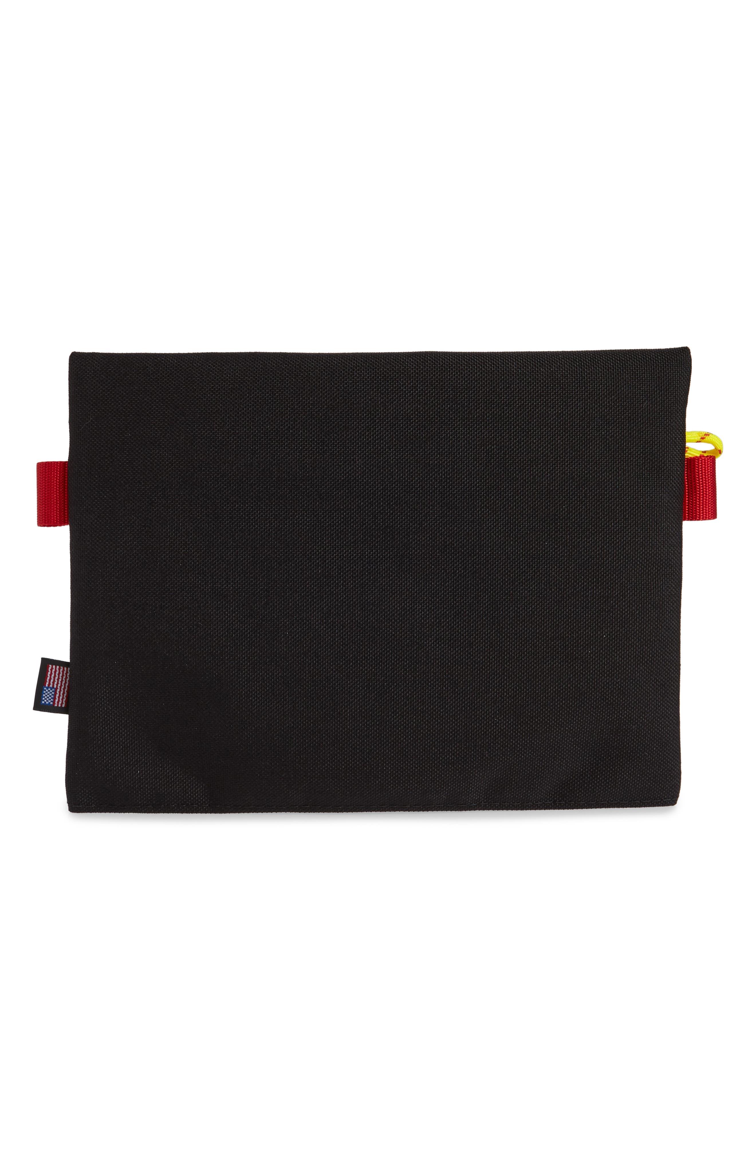 TopoDesigns Accessory Bag,                             Alternate thumbnail 2, color,                             BLACK/ ROYAL