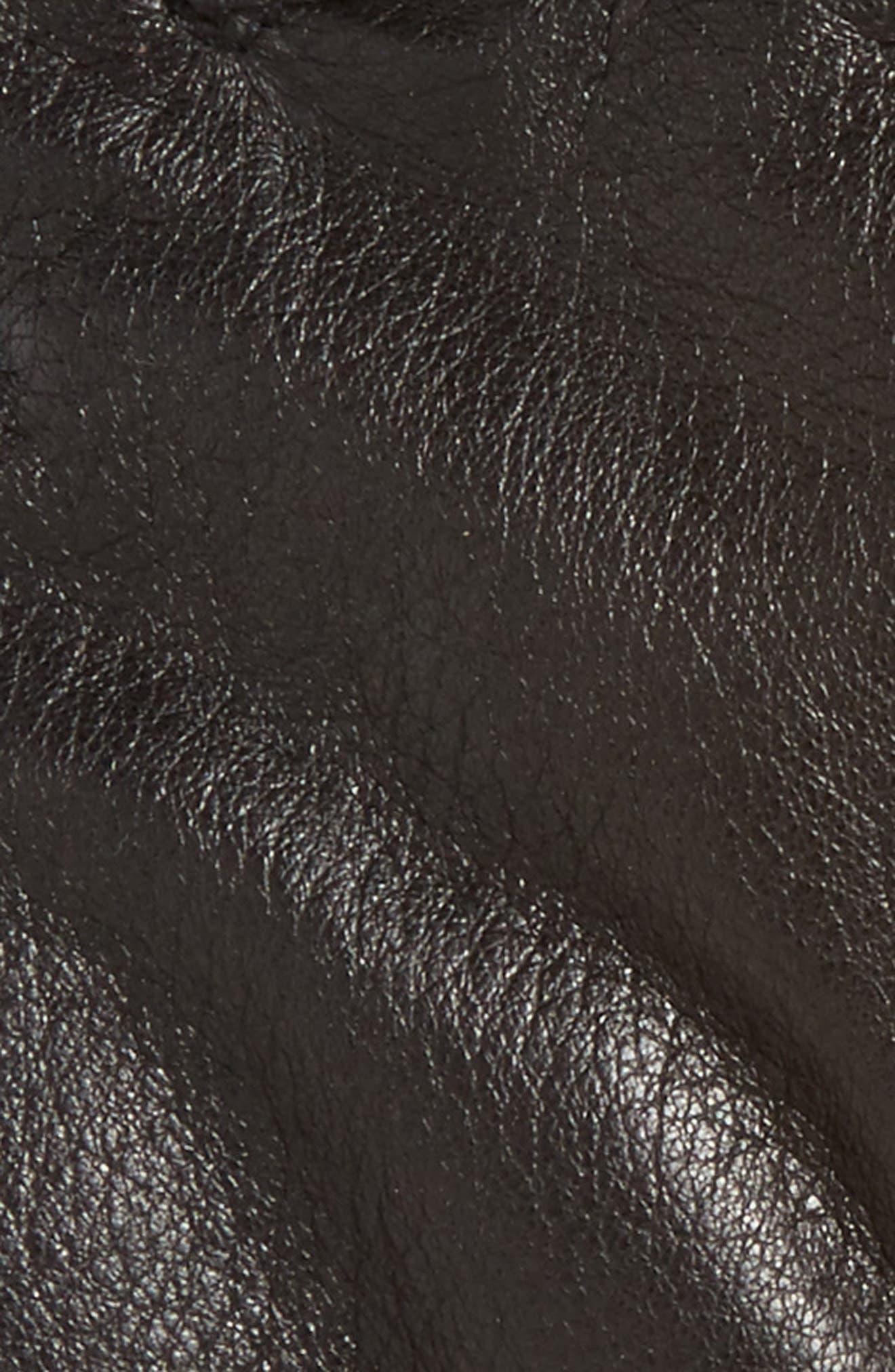 Utsjo Leather Gloves,                             Alternate thumbnail 3, color,                             001