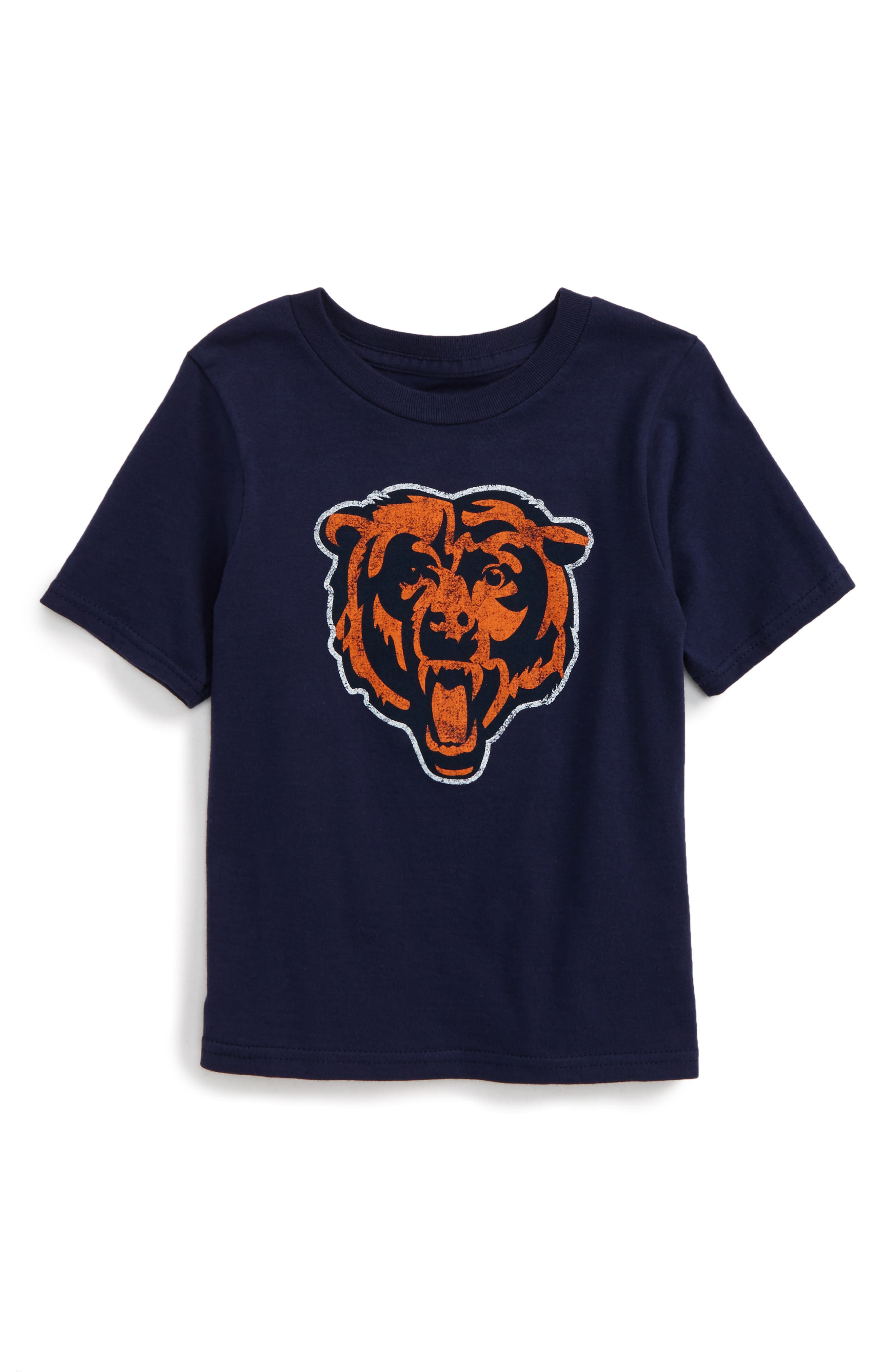 'NFL - Chicago Bears' Distressed Logo Graphic T-Shirt,                             Alternate thumbnail 2, color,                             410