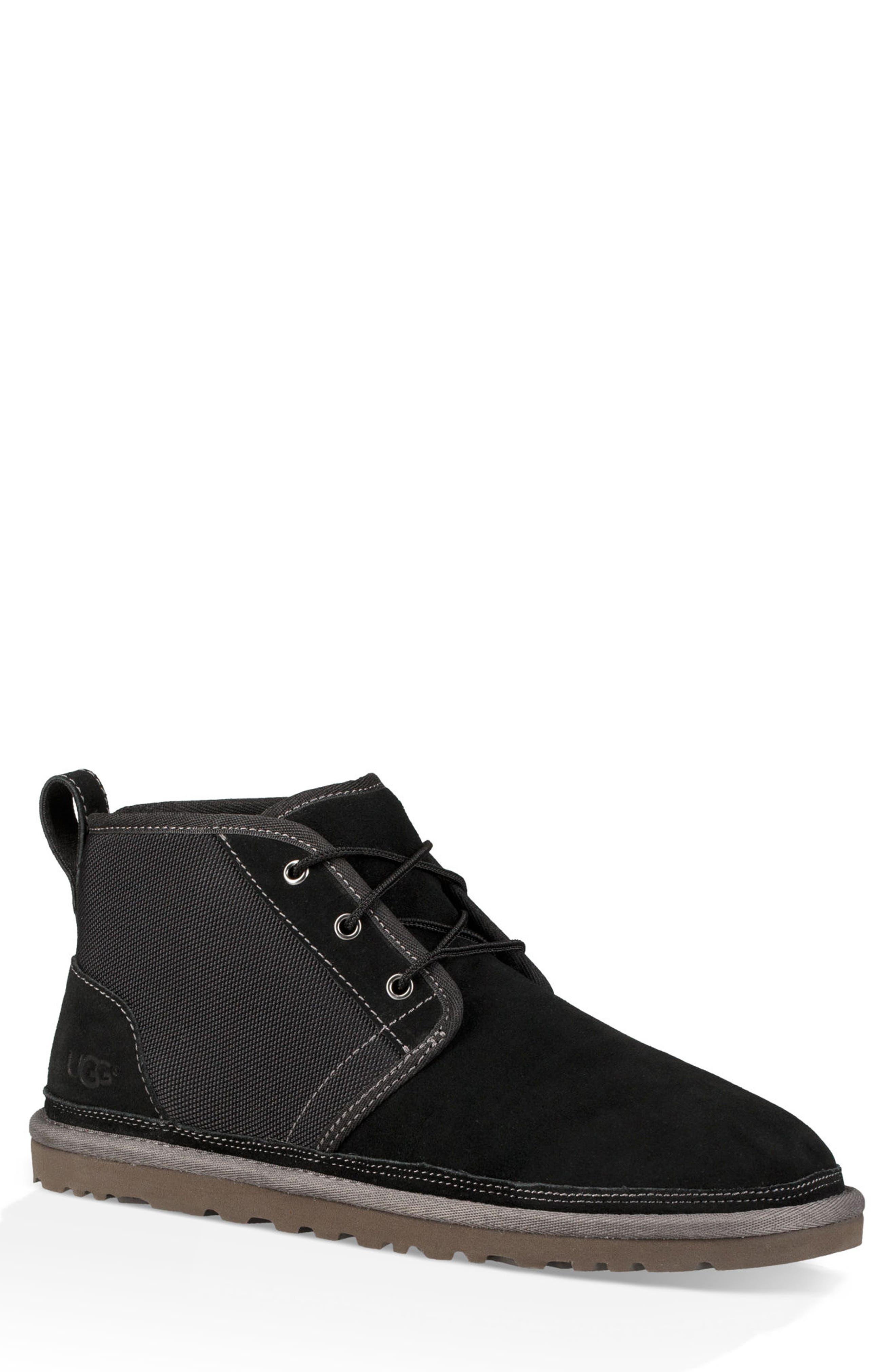 Neumel Unlined Chukka Boot,                         Main,                         color, 001