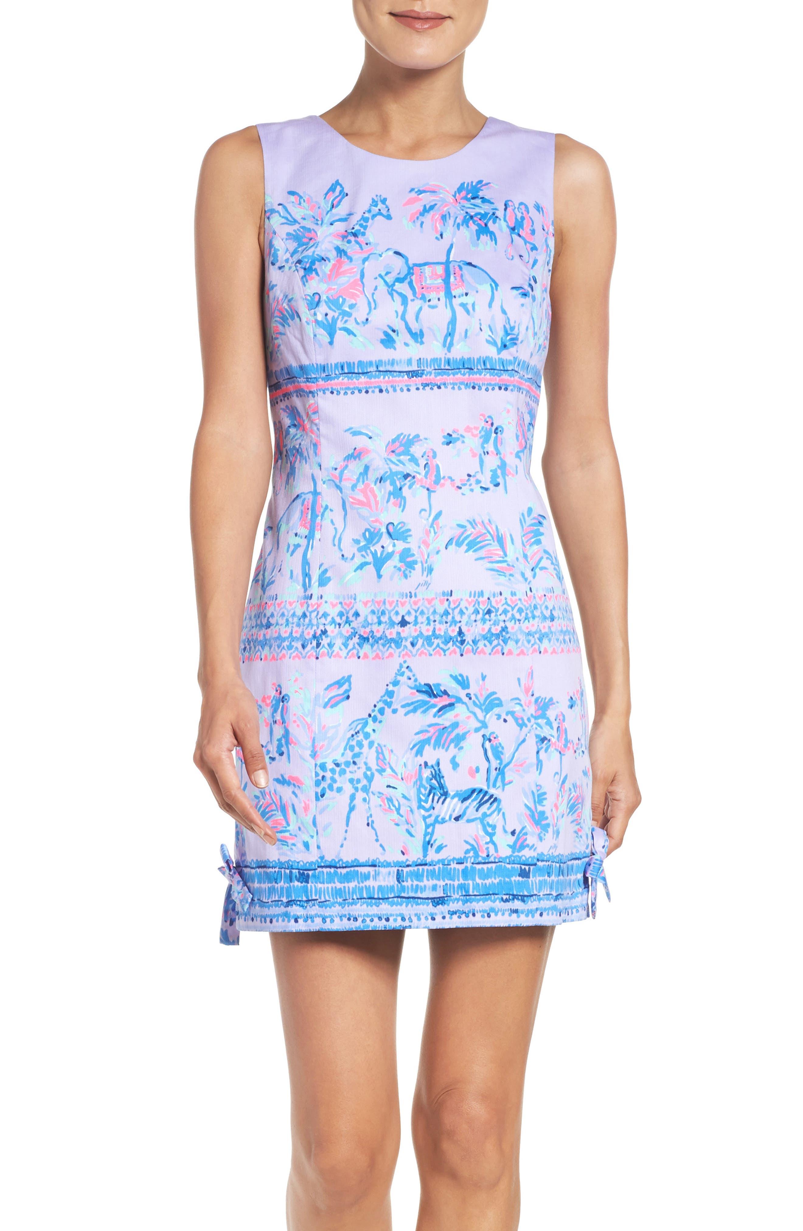LILLY PULITZER<SUP>®</SUP>,                             Mila Shift Dress,                             Main thumbnail 1, color,                             550