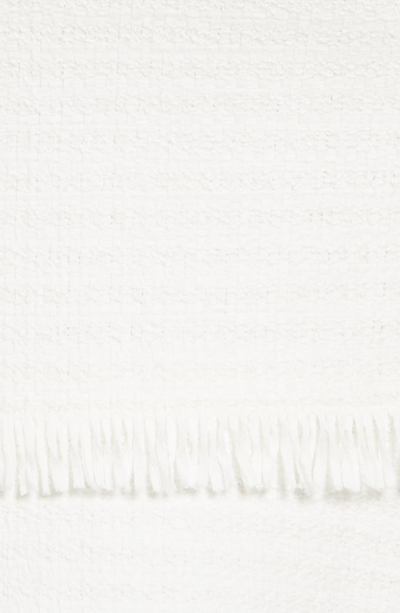 Cord Strap Ribbon Tweed Dress,                             Alternate thumbnail 5, color,                             900