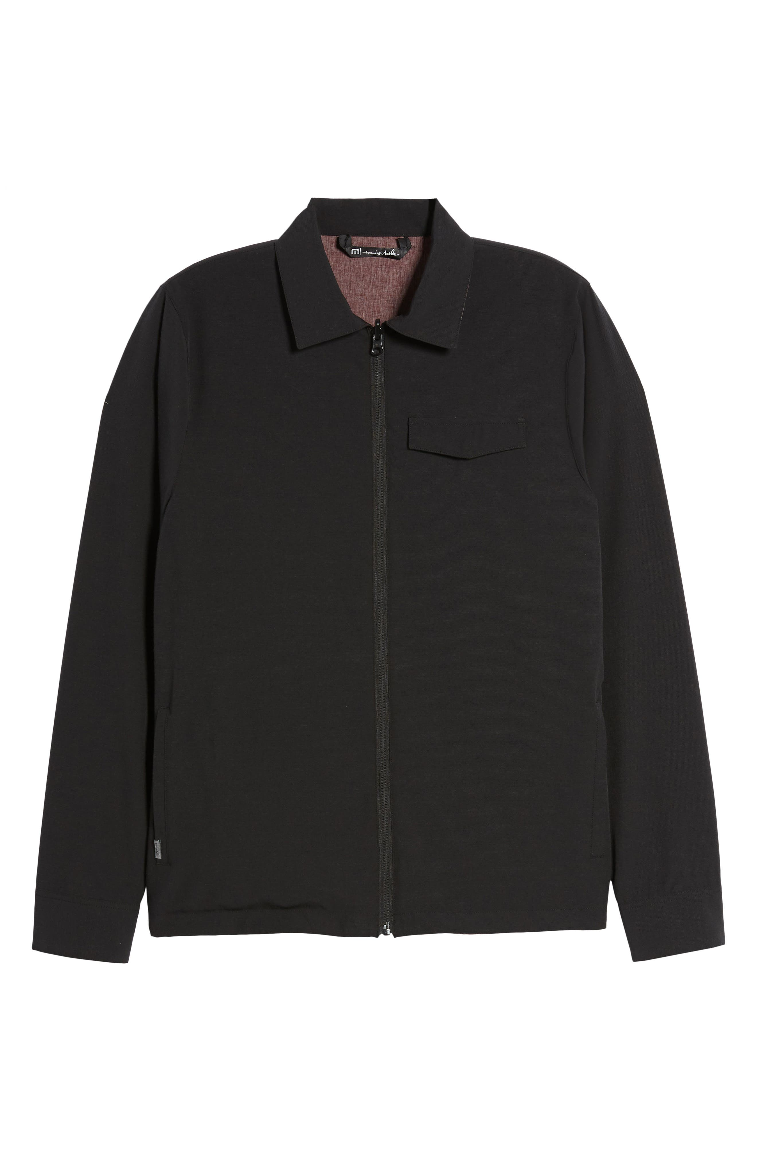 Battery Reversible Jacket,                             Alternate thumbnail 7, color,                             BLACK/ WINETASTING
