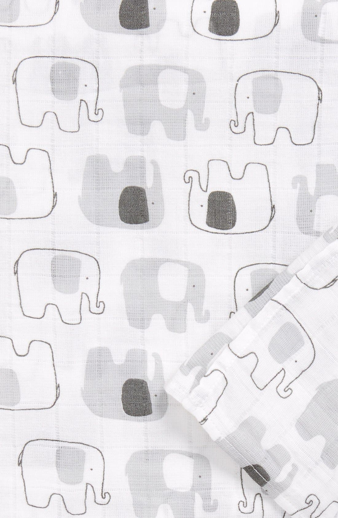 Cotton Swaddle Blanket,                             Alternate thumbnail 23, color,