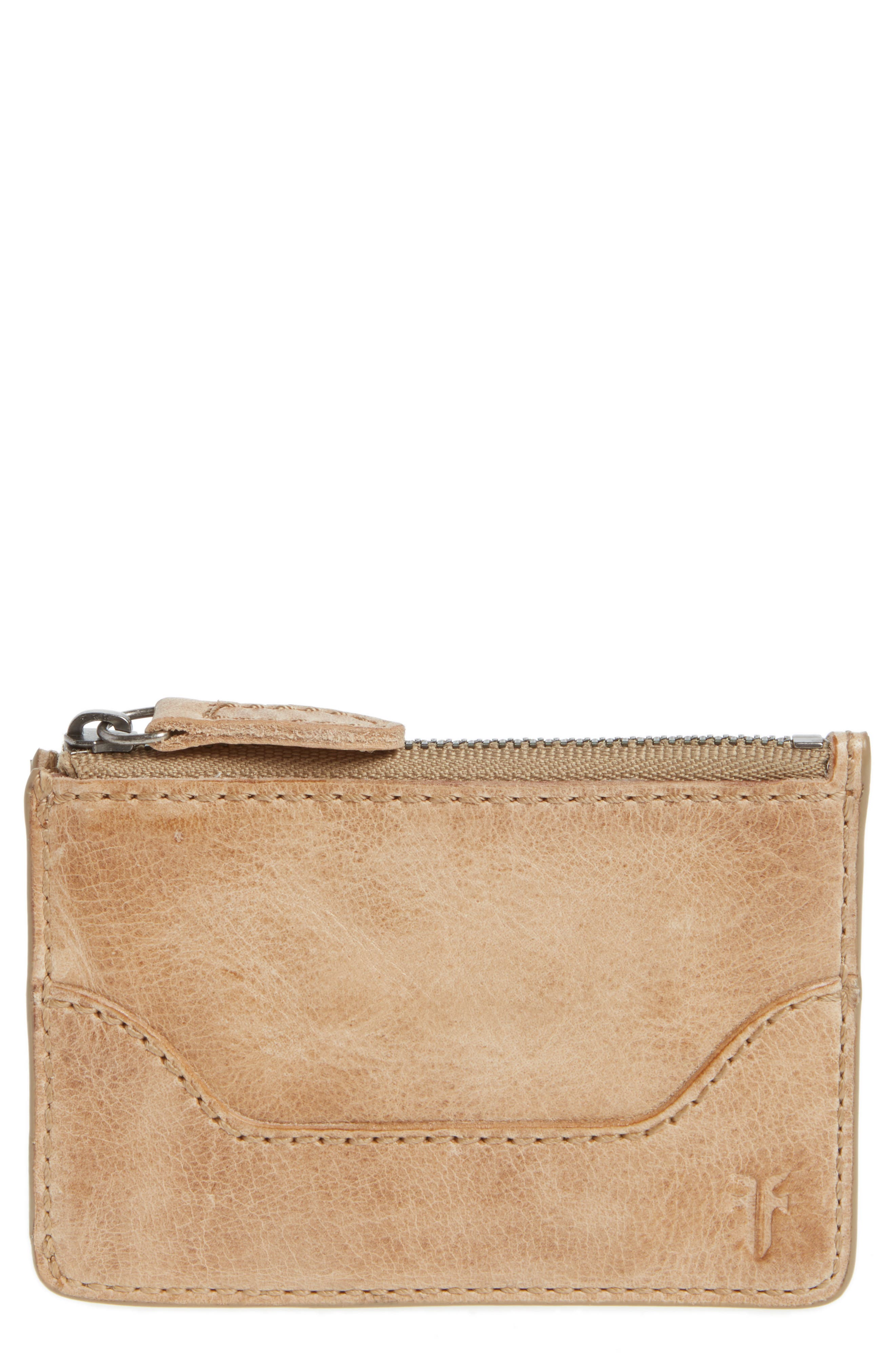 Melissa Leather Card Holder with Key Ring,                             Main thumbnail 3, color,