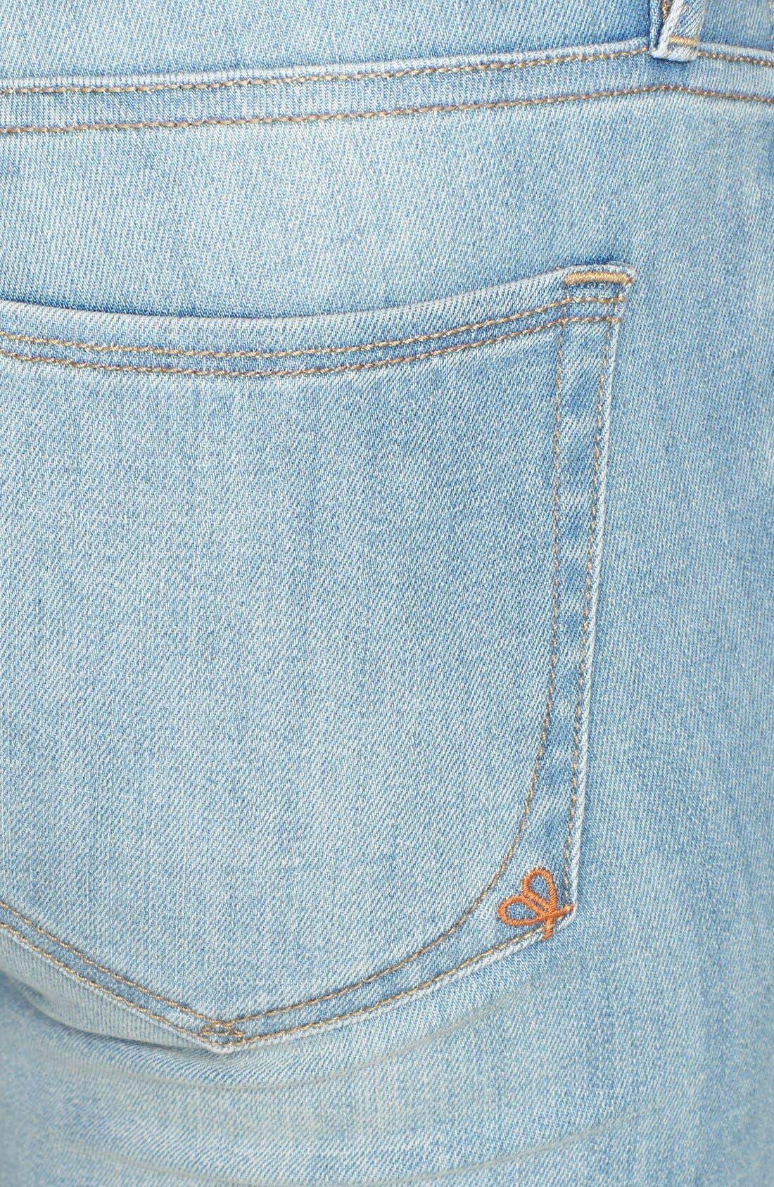 'Stevie' Crop Skinny Jeans,                             Alternate thumbnail 3, color,                             401