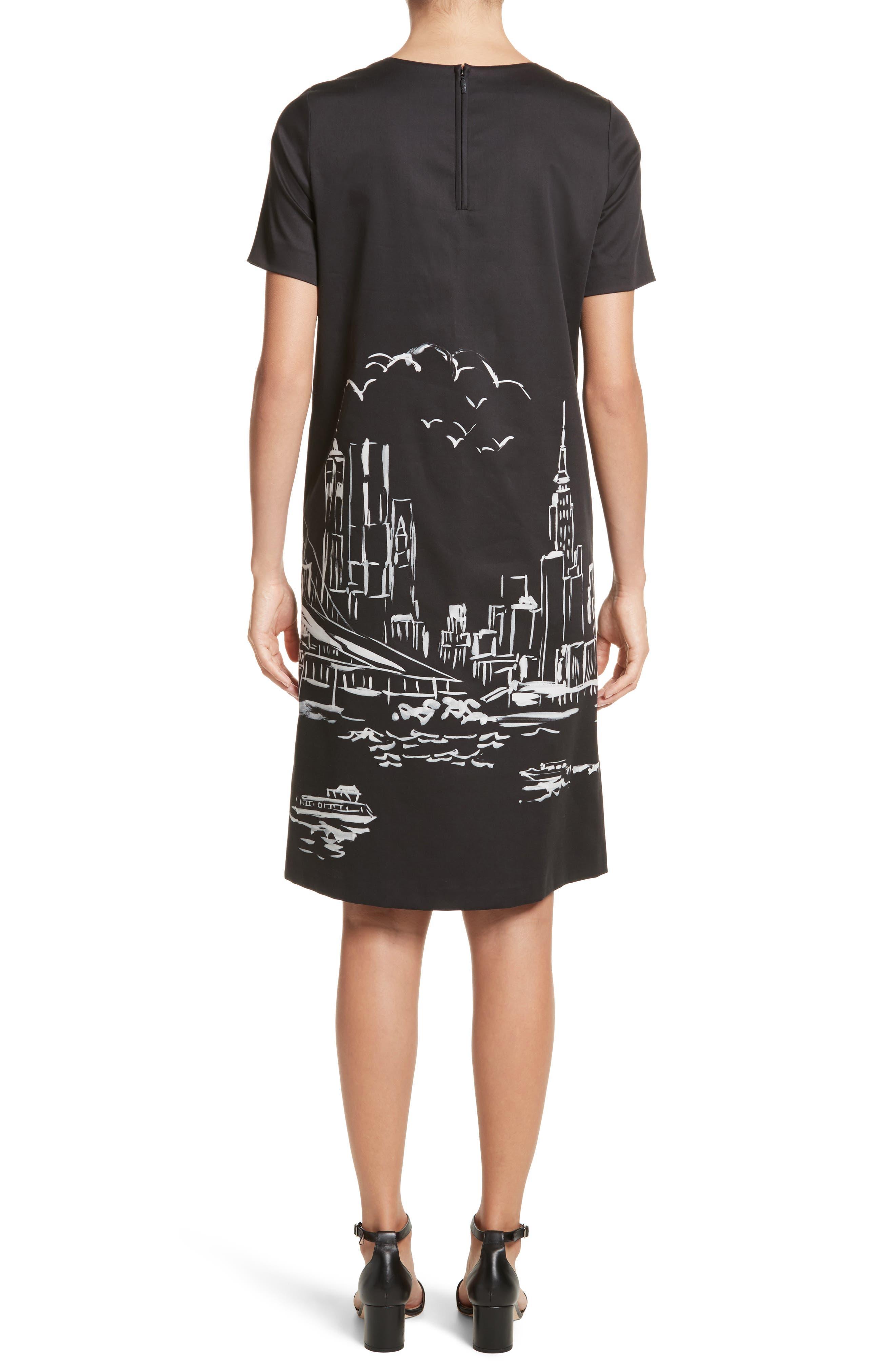 Giuliana Print Shift Dress,                             Alternate thumbnail 2, color,                             083